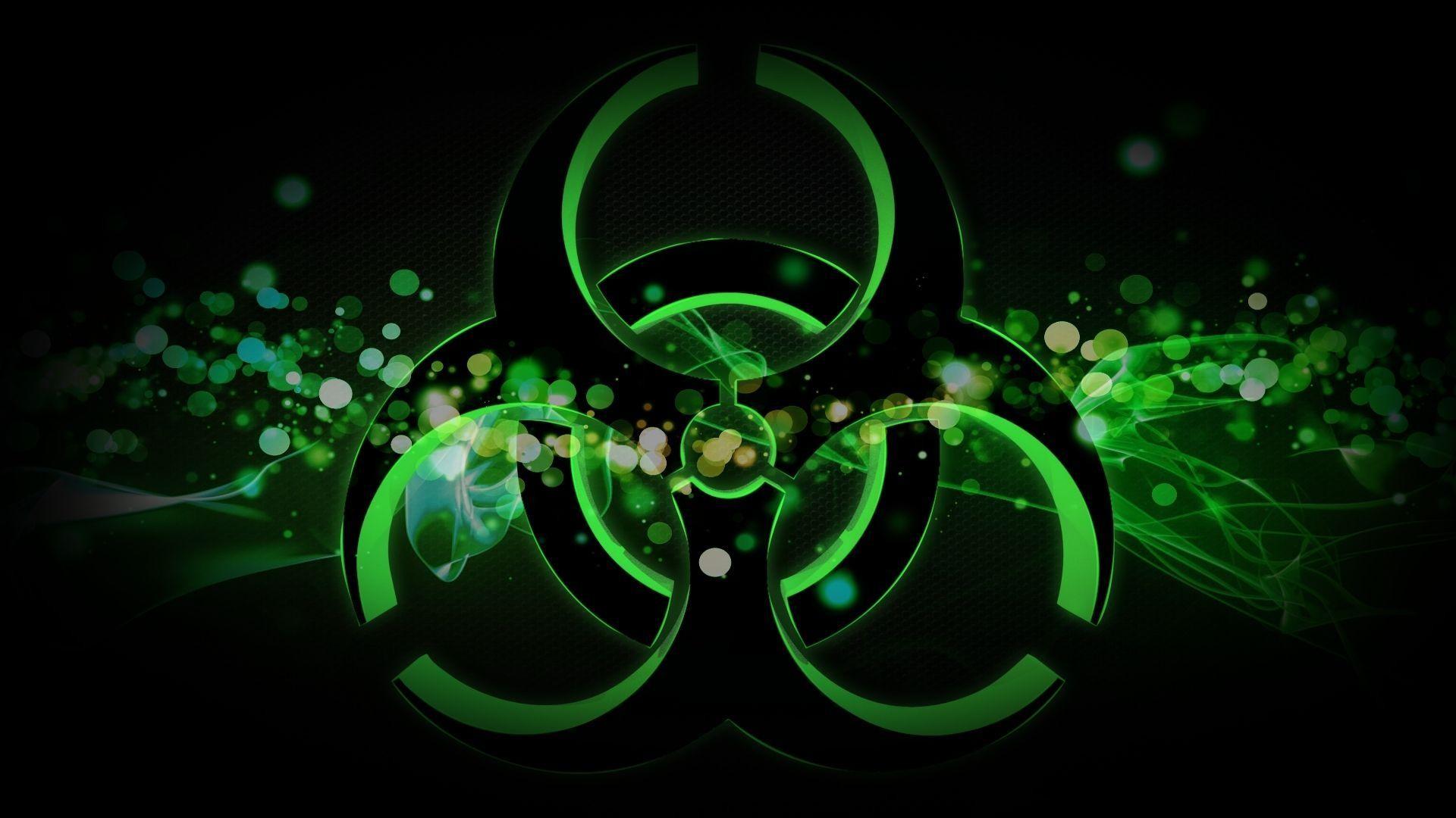 Res: 1920x1080, Radiation Sign Spot