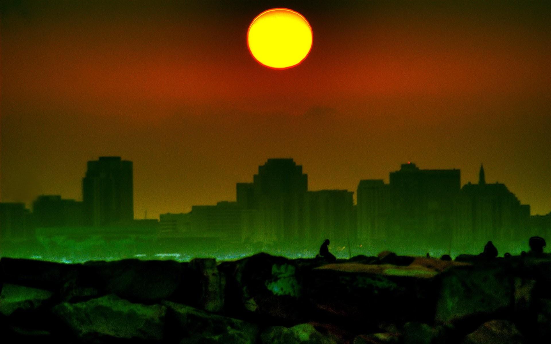 Res: 1920x1200, radioactive city
