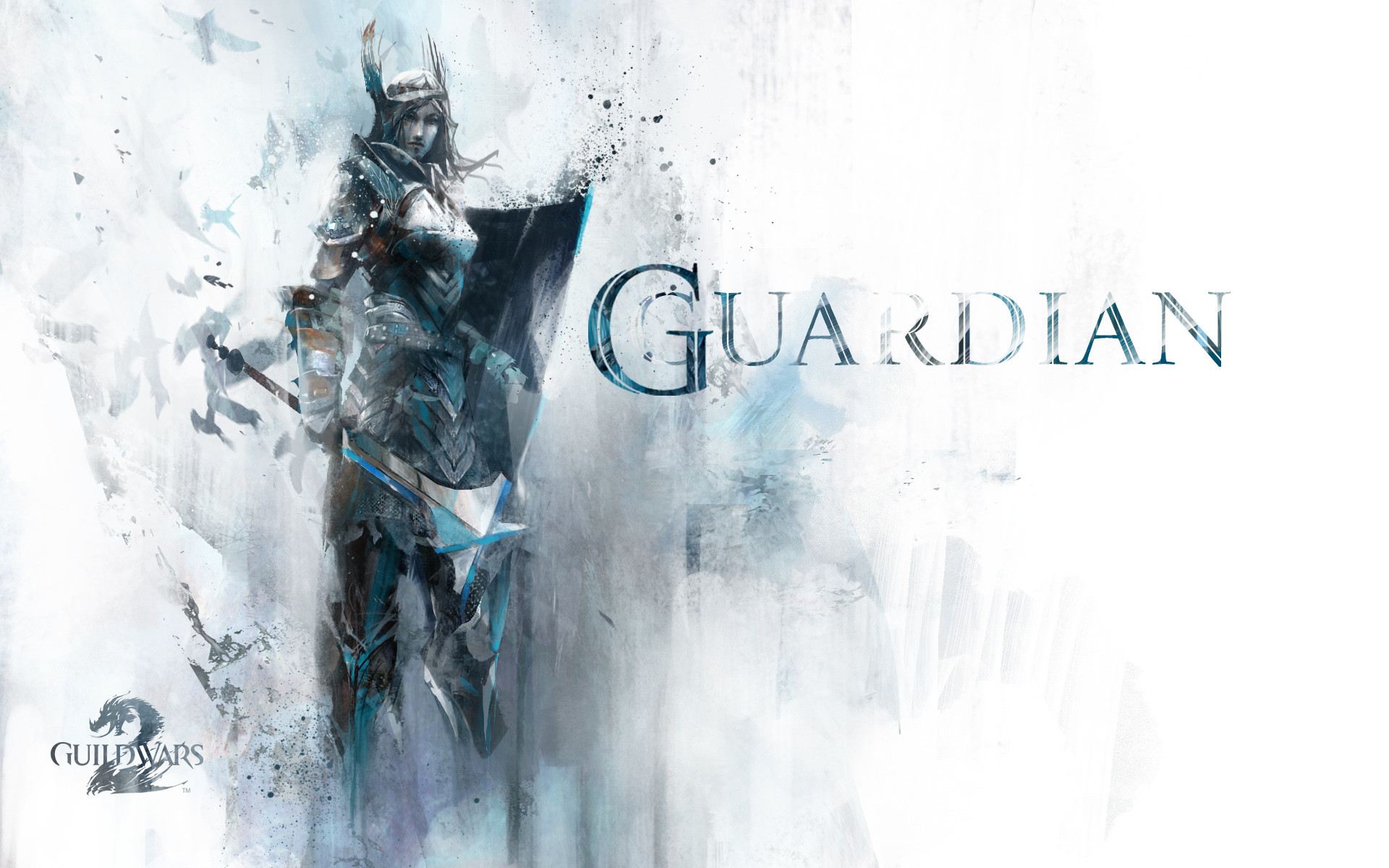Res: 1920x1200, Guild Wars 2 Wallpaper Guardian