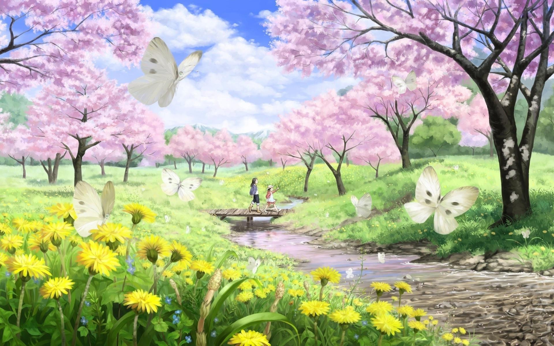 Res: 1920x1200, Spring nature desktop wallpaper wallpaper hd new.
