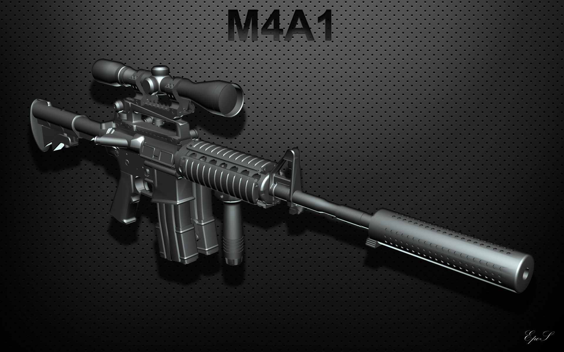 Res: 1920x1200, M4A1 weapon gun military rifle police y wallpaper | | 192603 | WallpaperUP