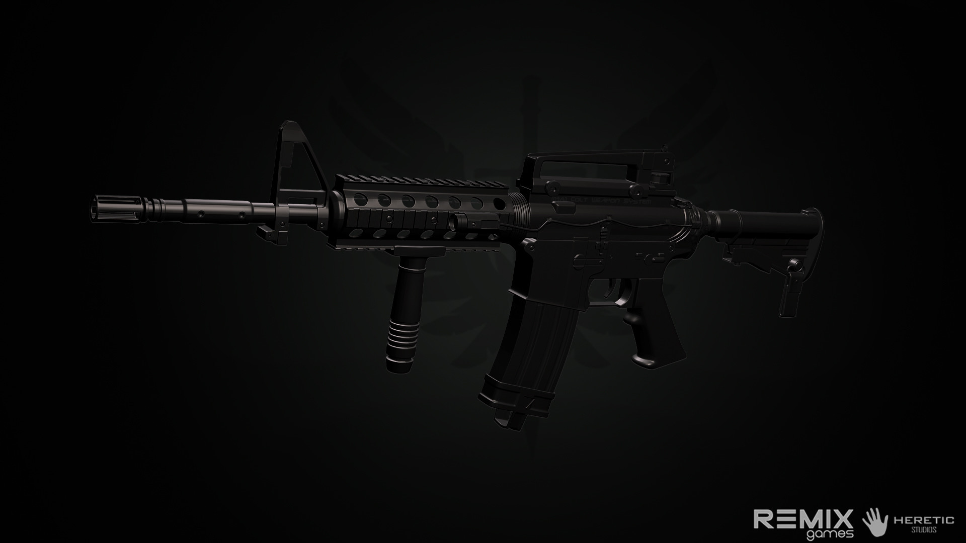 Res: 1920x1080, M4A1 weapon gun military rifle police f wallpaper | | 192586 | WallpaperUP