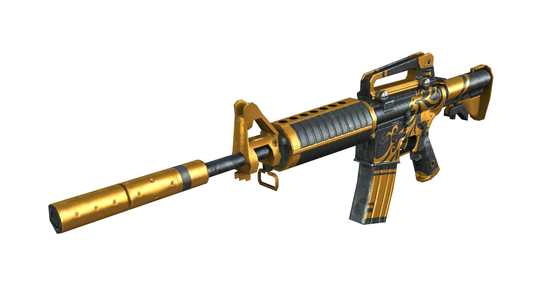 Res: 1920x1080, M4A1-S Gold Phoenix (2).png