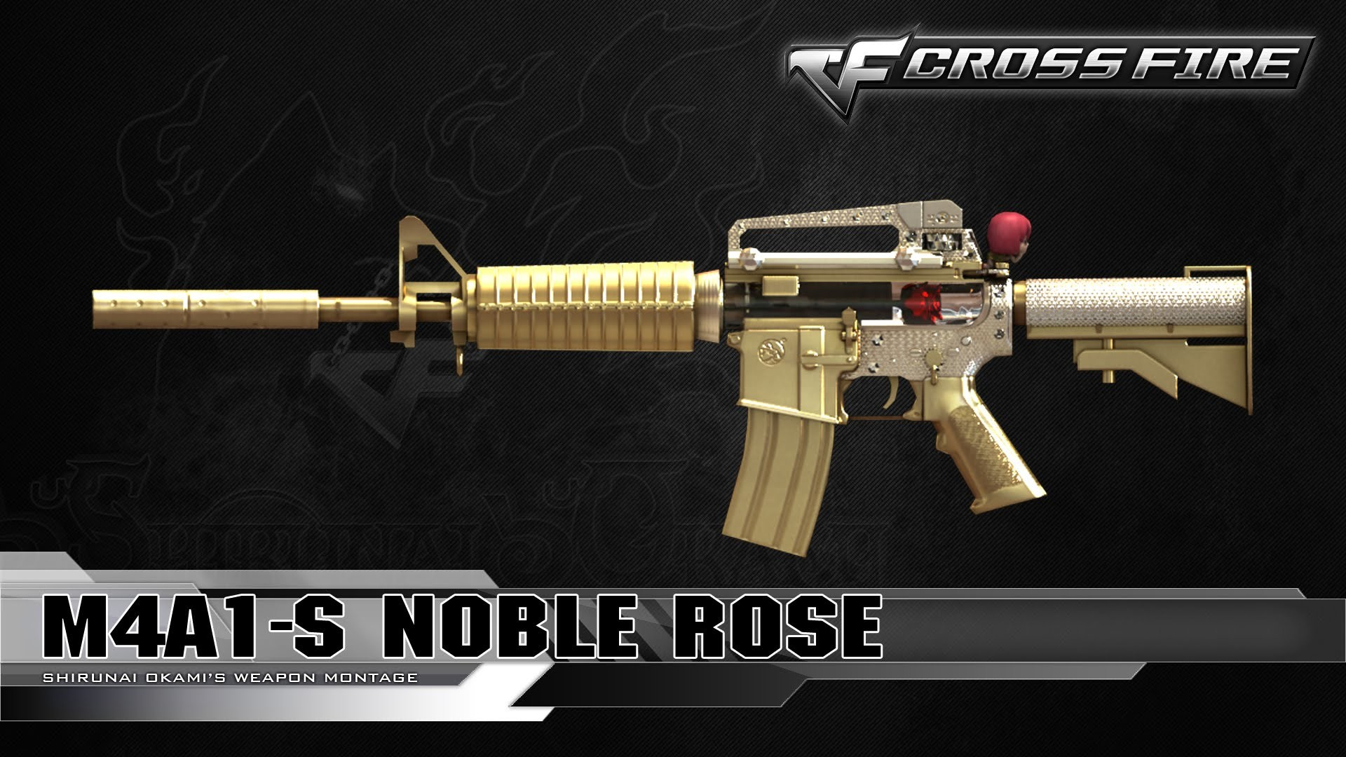 Res: 1920x1080, CrossFire Vietnam : M4A1-S Noble Rose ☆ - YouTube