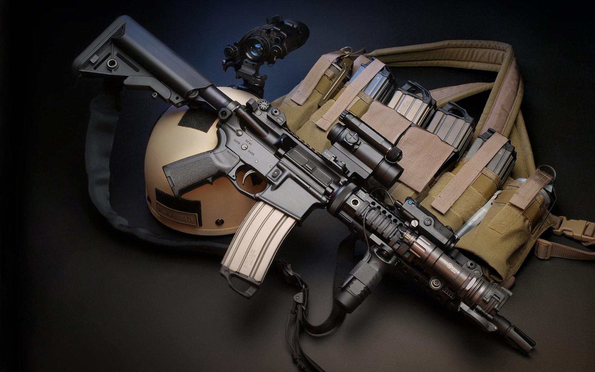 Res: 1920x1200, Wallpaper M4, Larue Tactical, assault rifle, MWS, M4A1, custom .