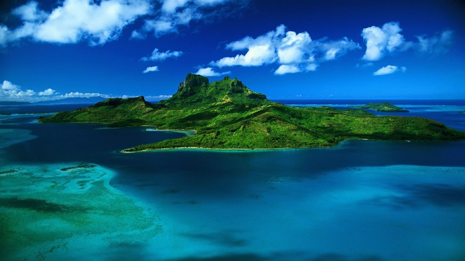 Res: 1920x1080, Mauritius Island On The Indian Ocean Wallpaper   Wallpaper Studio 10   Tens  of thousands HD and UltraHD wallpapers for Android, Windows and Xbox