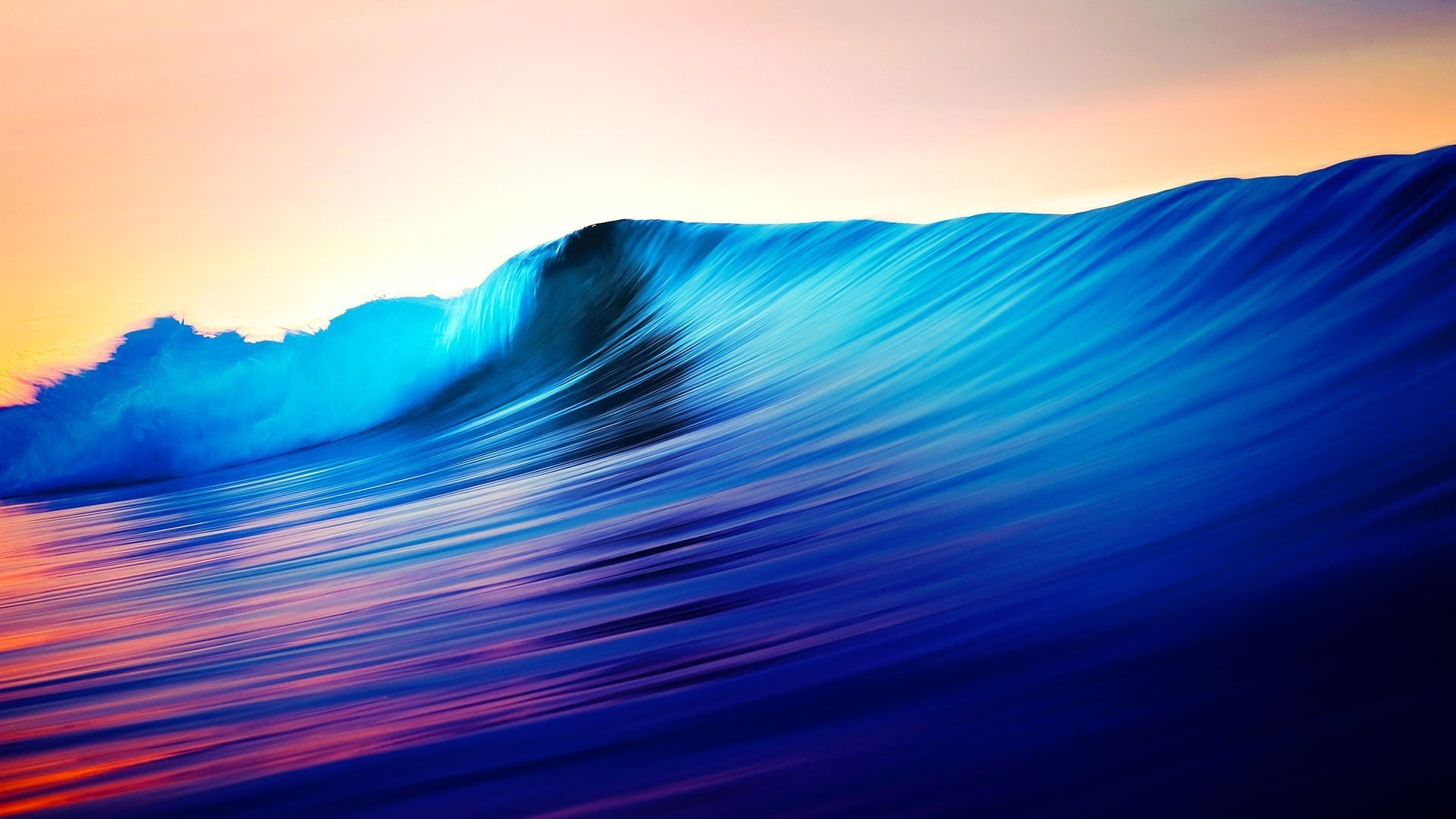 Res: 1920x1080, Beautiful Oceans Sea Shiny Waves Nature Ocean Wallpaper Ios -
