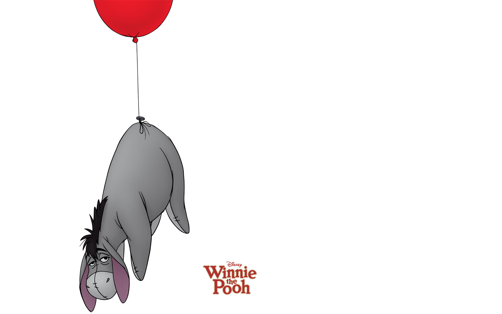 Res: 1920x1200, Eeyore from Winnie the Pooh wallpaper - Click picture for high resolution  HD wallpaper
