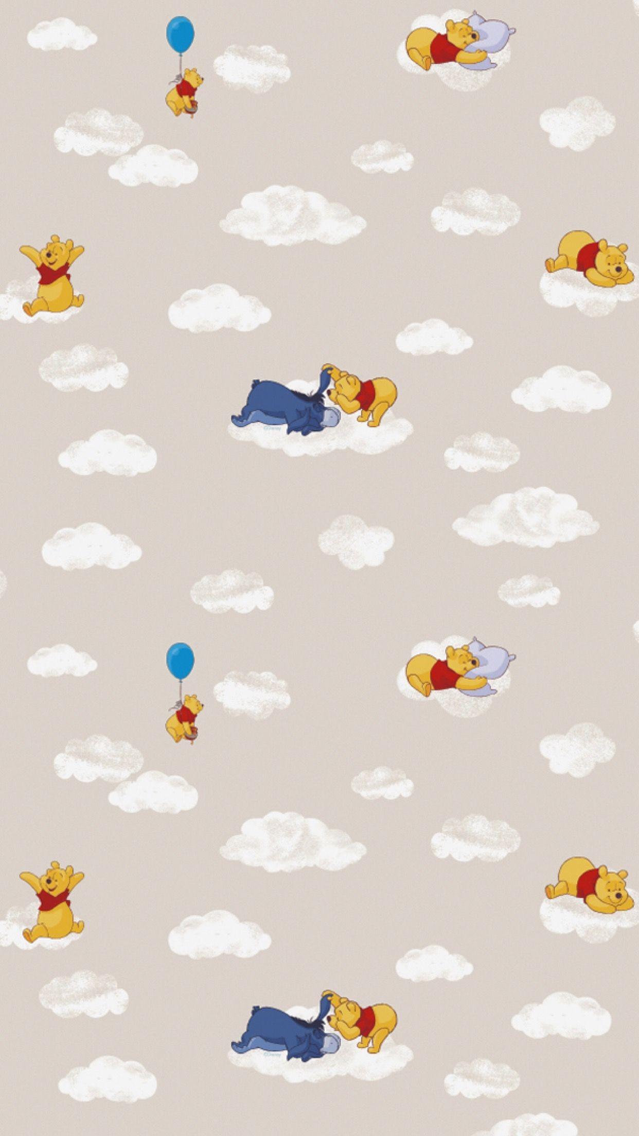 Res: 1242x2208, Pooh & Eeyore