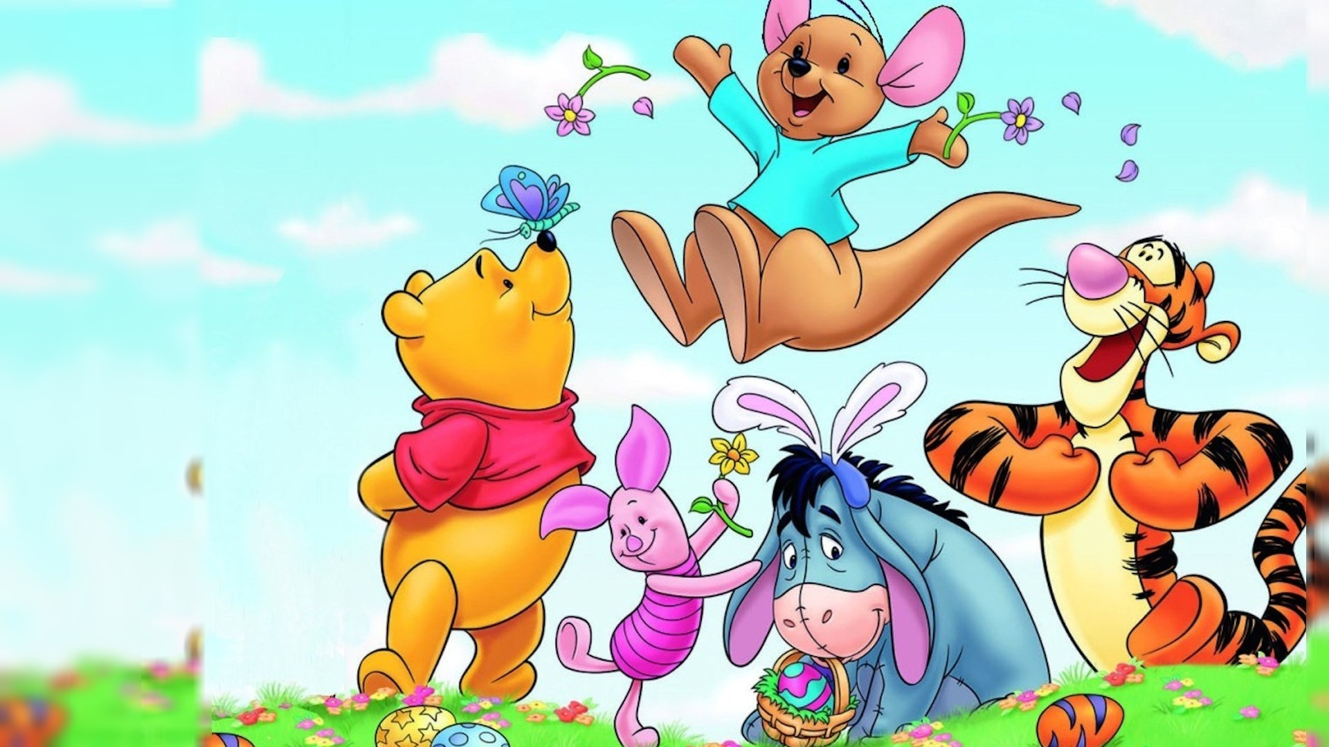 Res: 1920x1080, Winnie The Pooh Phone Wallpapers - Wallpaper Zone