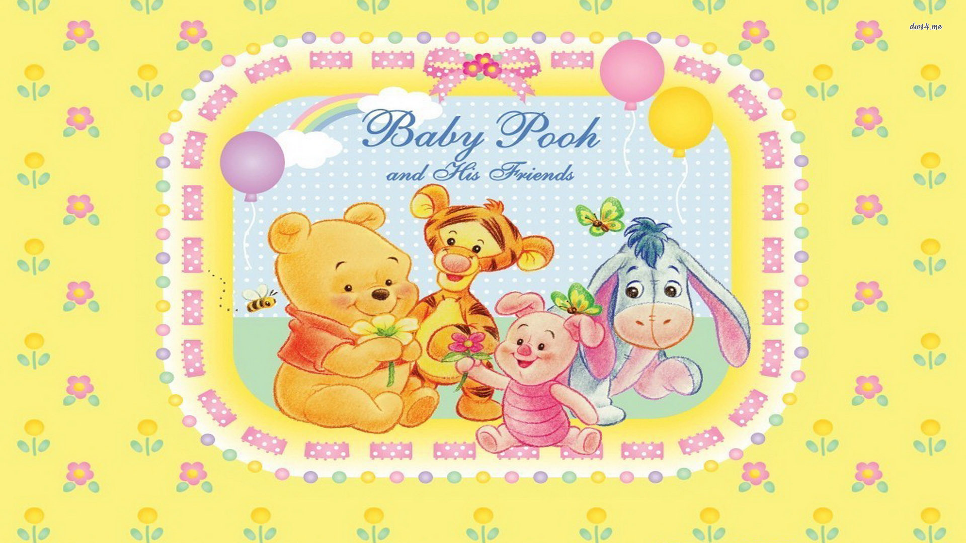 Res: 1920x1080, ... Baby Winnie-the-Pooh and Friends wallpaper  ...