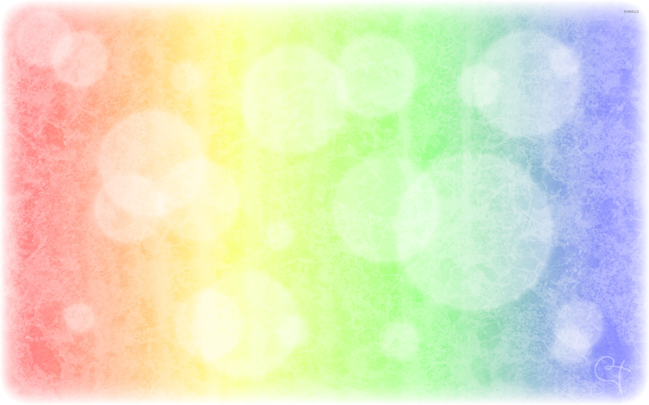 Res: 2560x1600, Frozen colored glass wallpaper