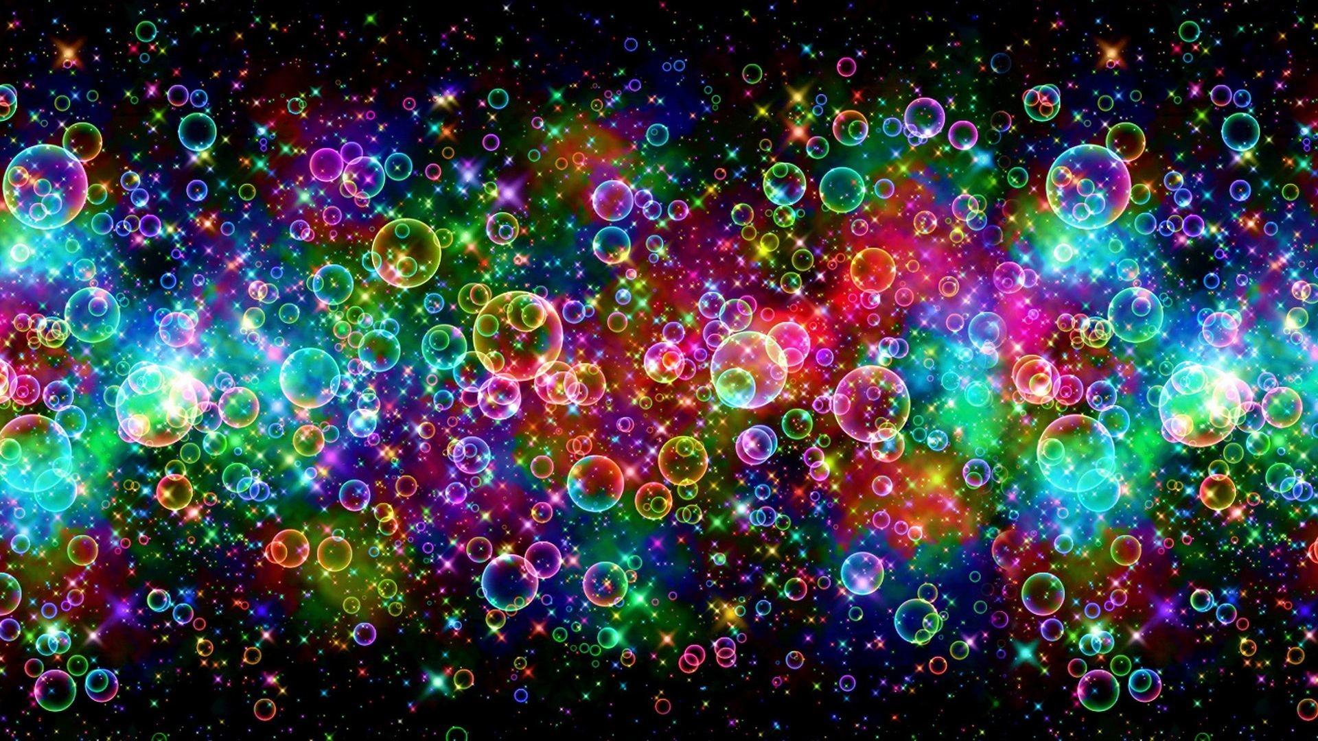 Res: 1920x1080, Colorful Desktops | Description: Colorful Bubbles Wallpaper is Wallapers  for pc desktop .