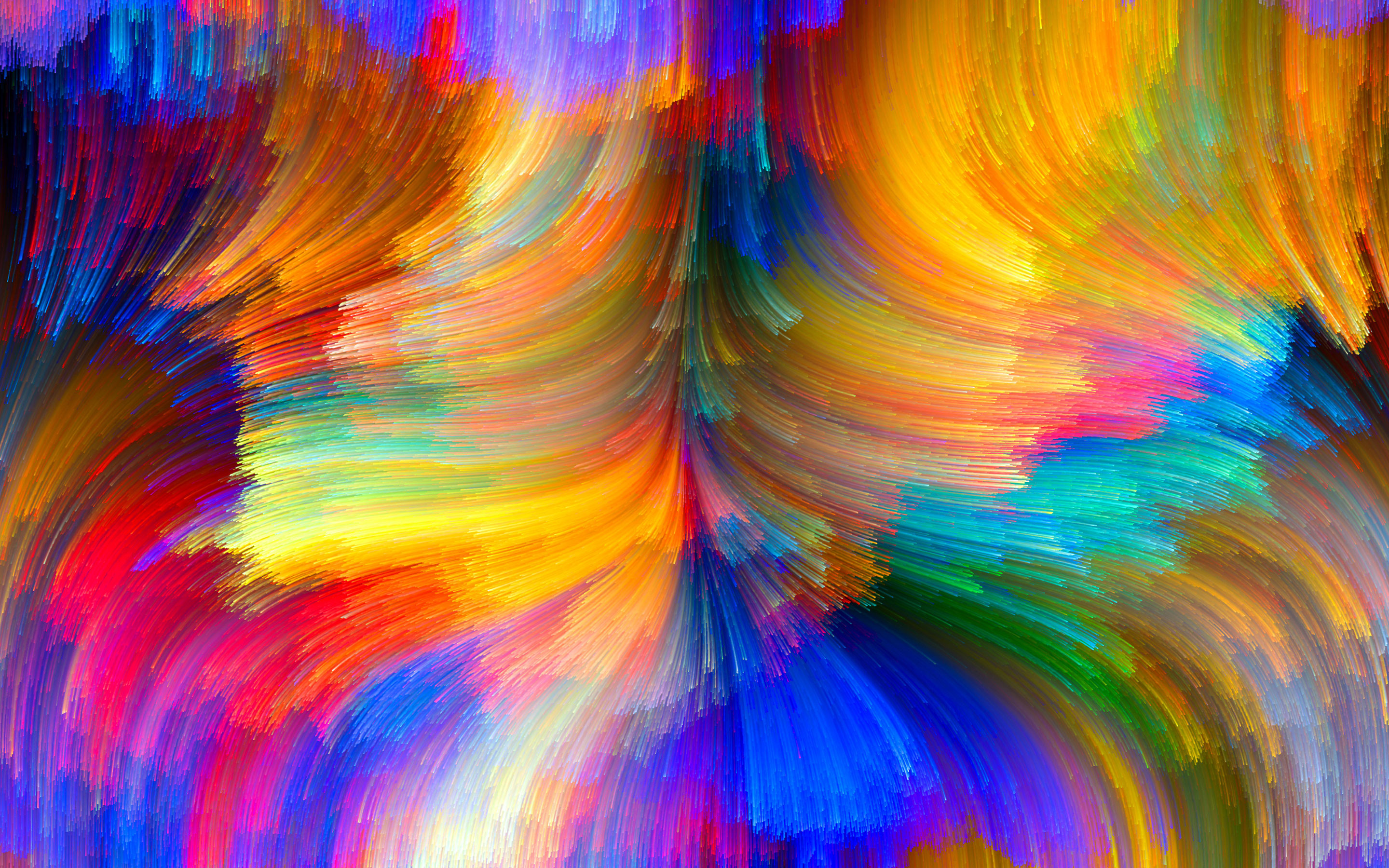 Res: 2880x1800, Abstract Bright Colors Wallpapers