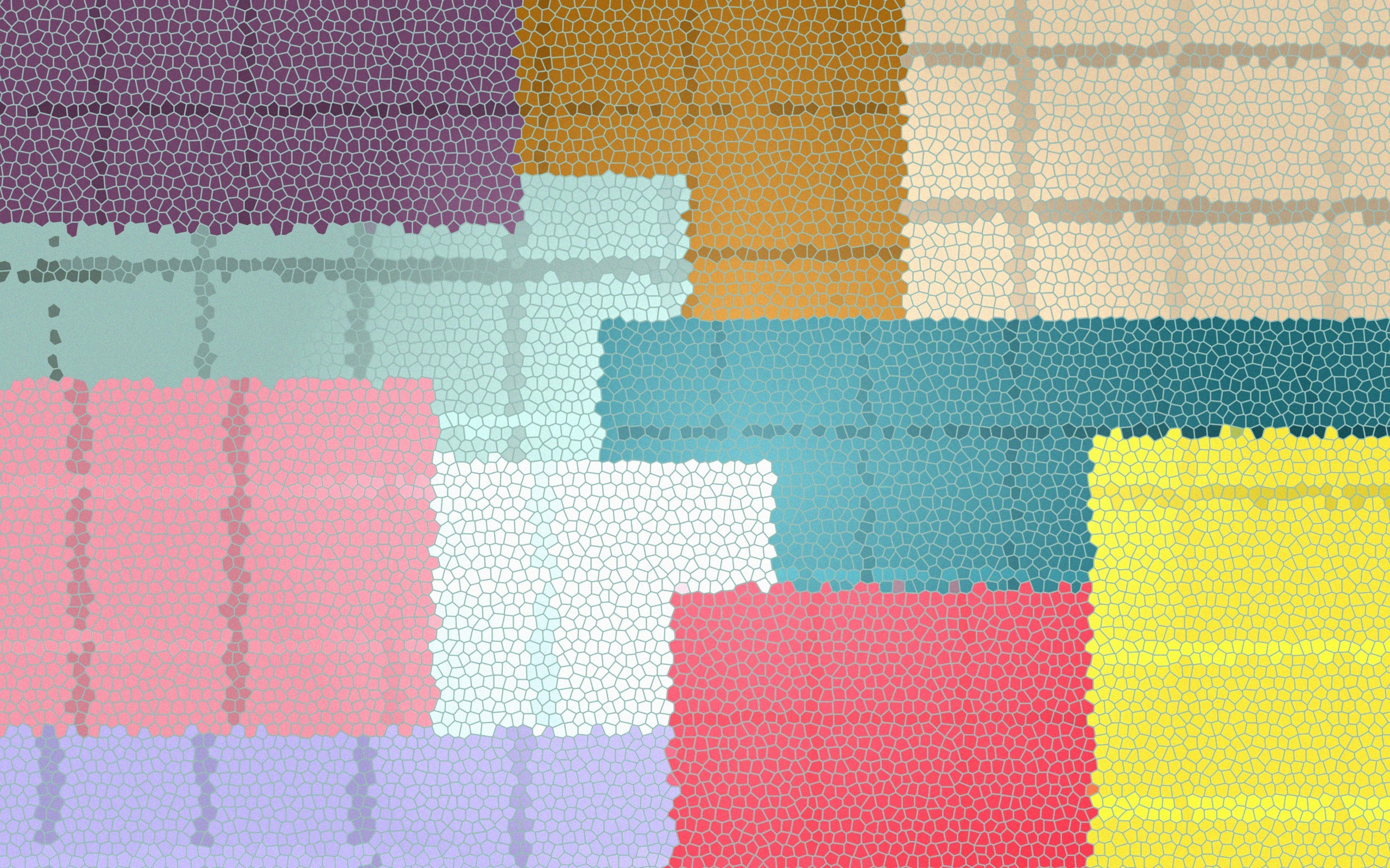 Res: 2560x1600, Colorful Tiles Wallpaper
