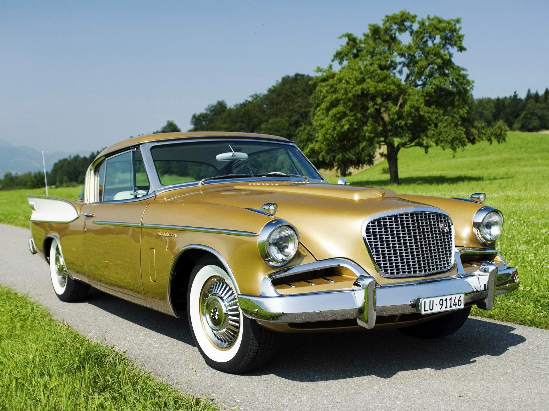 Res: 1920x1440, Studebaker Silver Hawk Wallpaper HD
