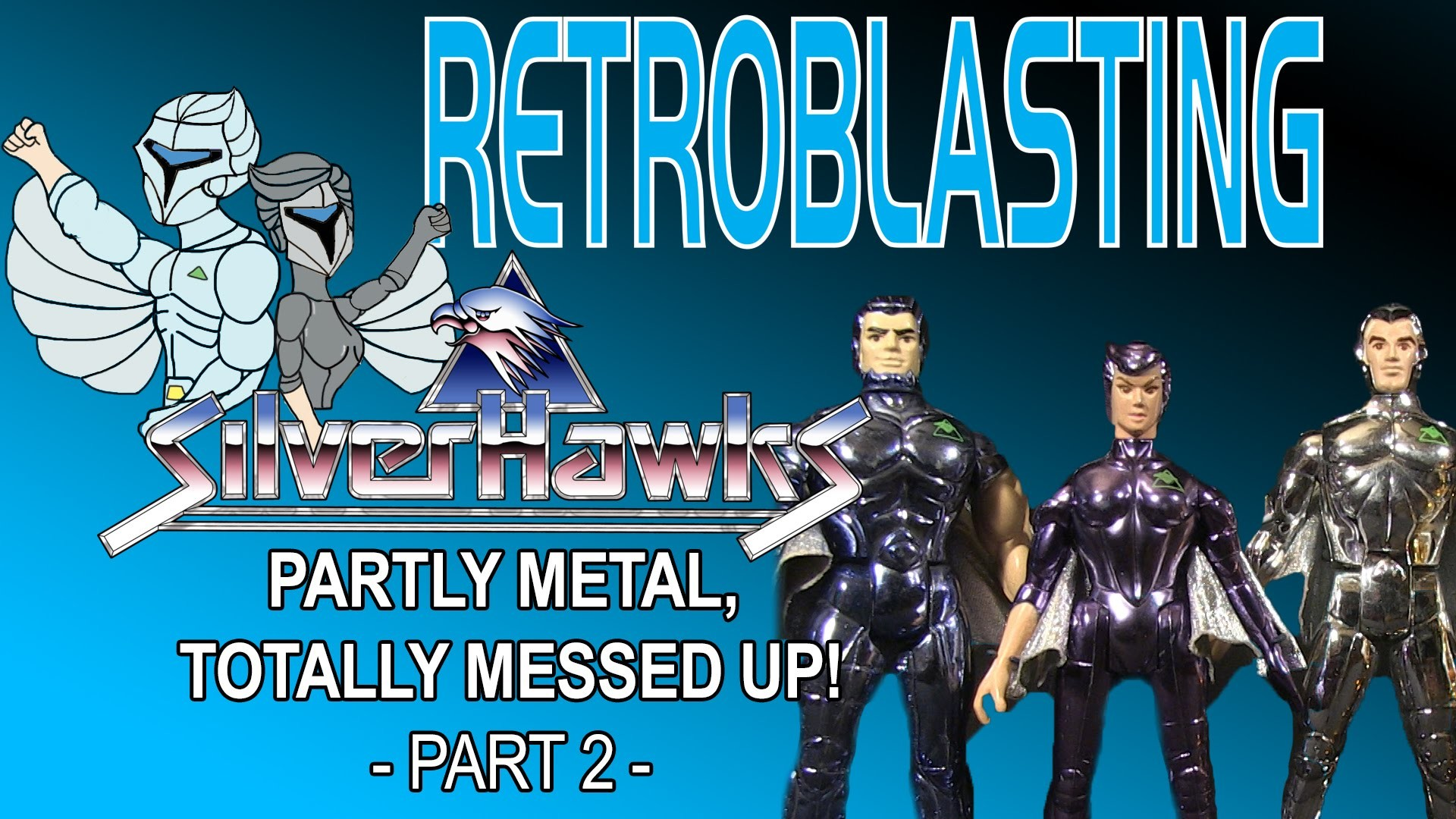 Res: 1920x1080, Silverhawks: Vintage Toy Review - Part 2 of 2 Kenner 1980s Toys - YouTube