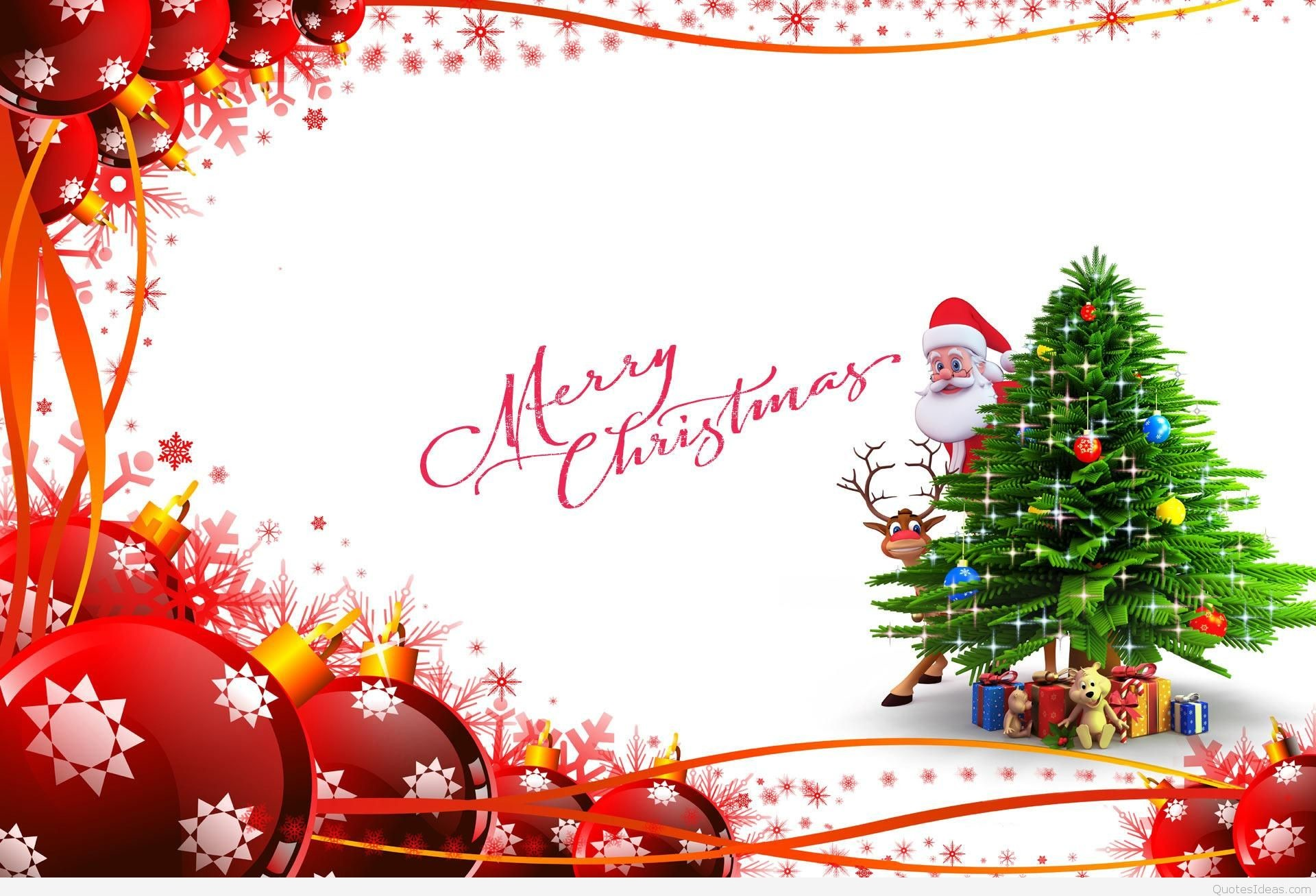 Res: 1920x1307, Free Pretty Merry Christmas Wallpaper With Santa Hd Images Backgrounds  Beautiful Quotes For Mobile