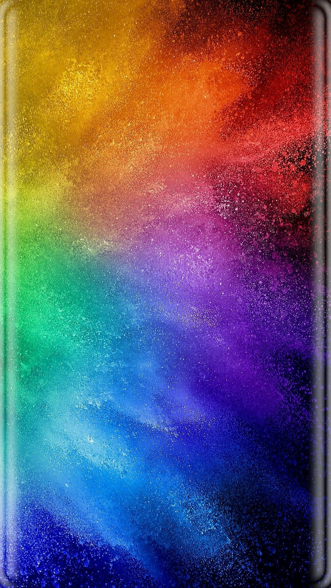 Res: 1080x1920, Rainbow Bursts Wallpaper