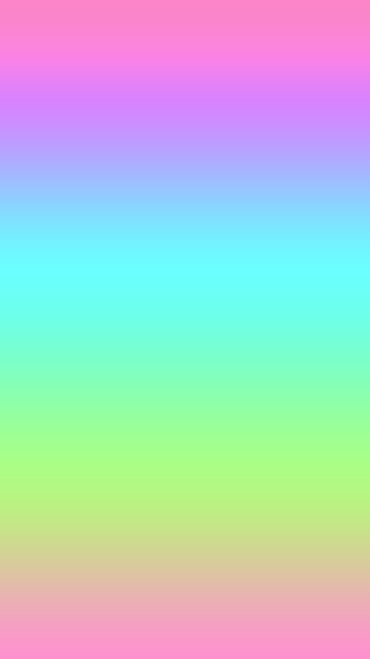 Res: 1242x2208, Pastel Rainbow Wallpapers Hd Resolution