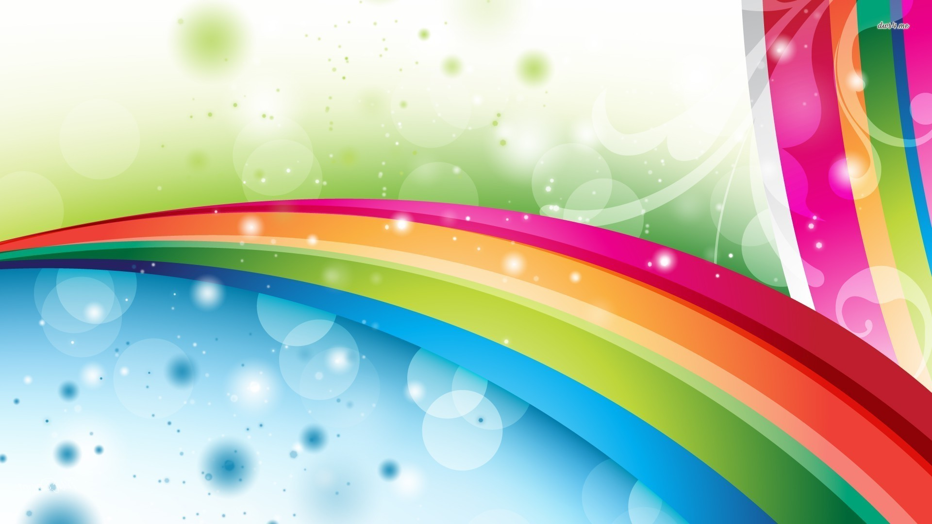 Res: 1920x1080, ... Rainbows wallpaper ; more. Abstract · Rainbow