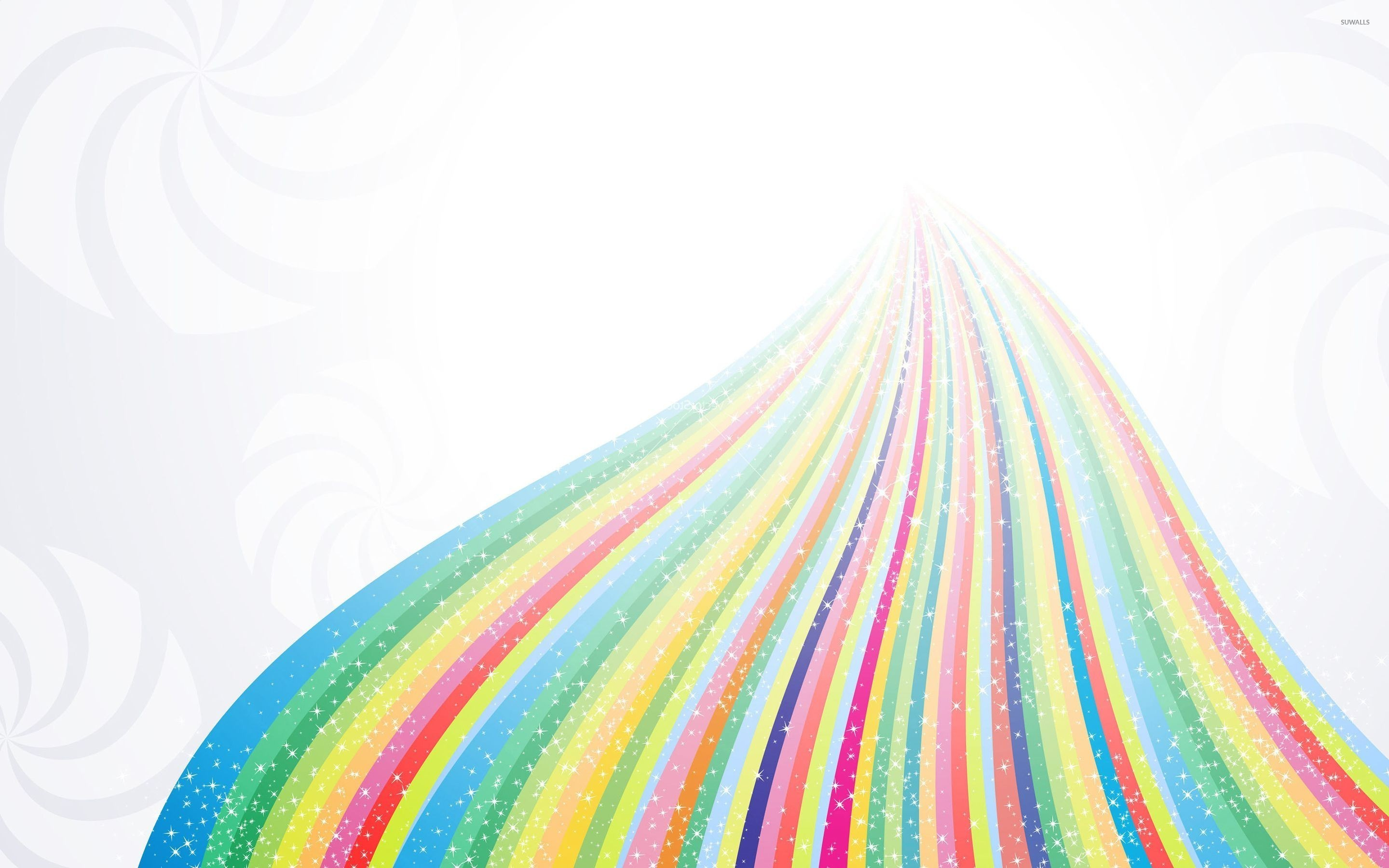 Res: 2880x1800, Sparkling rainbow wallpaper