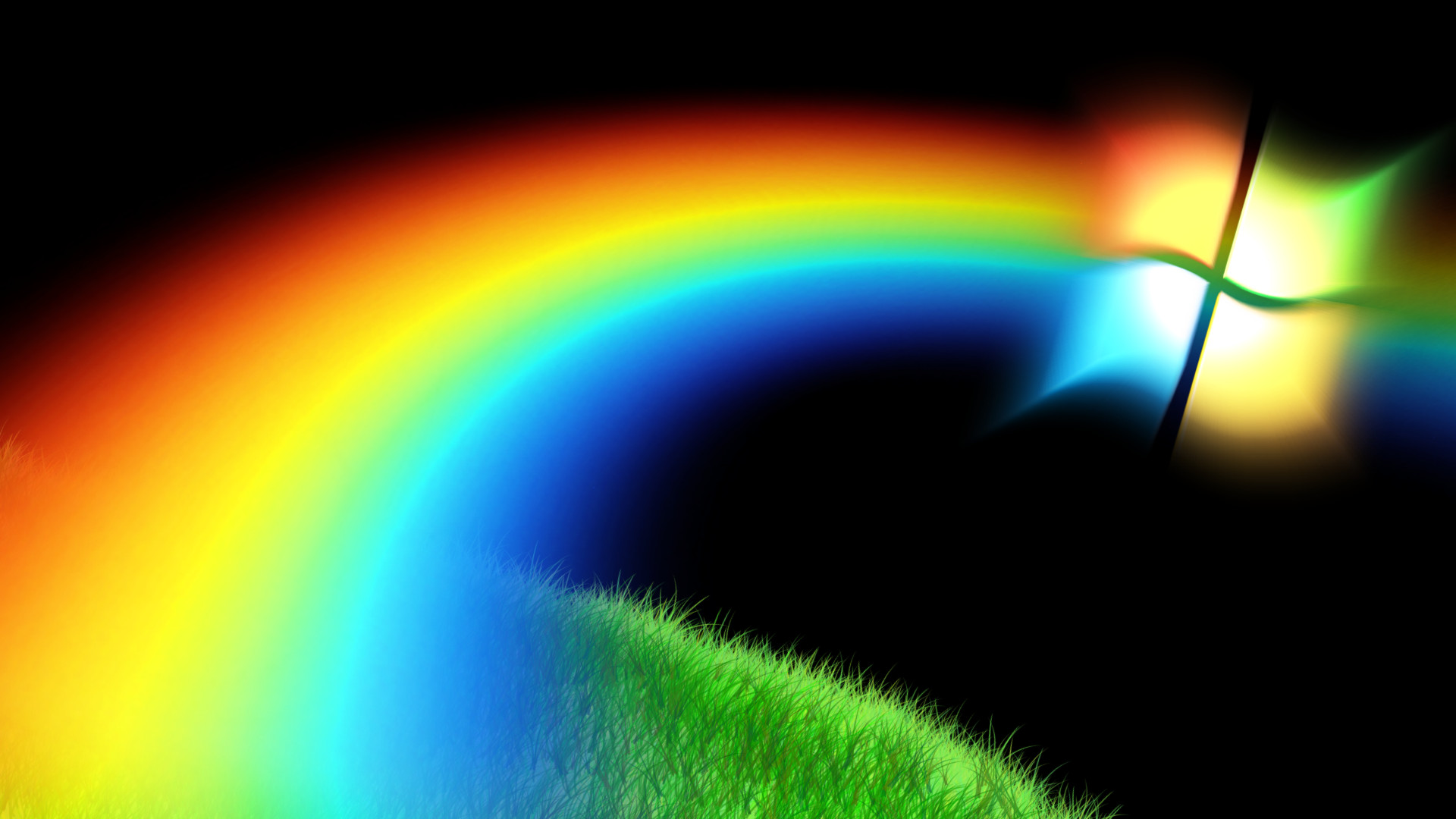 Res: 1920x1080, hd windows hd rainbow
