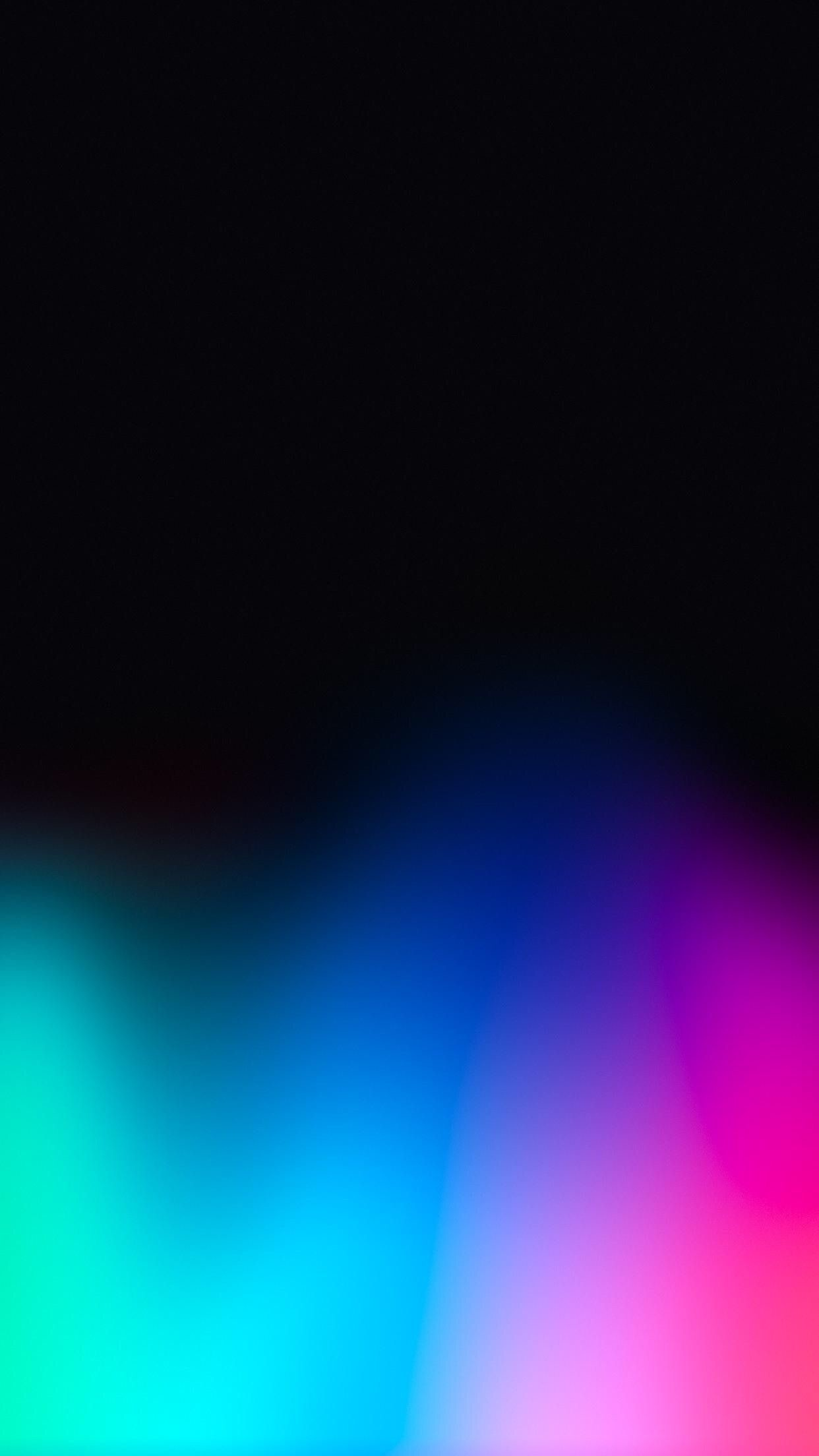 Res: 1242x2208, Dark rainbow wallpaper