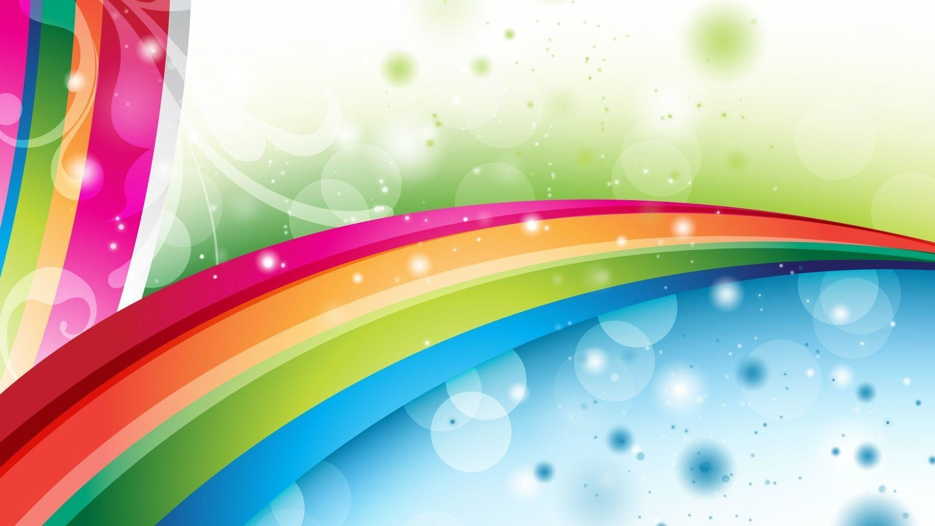 Res: 1920x1080, Abstract Rainbow Wallpaper Hd 26 6809 Images HD Wallpapers .