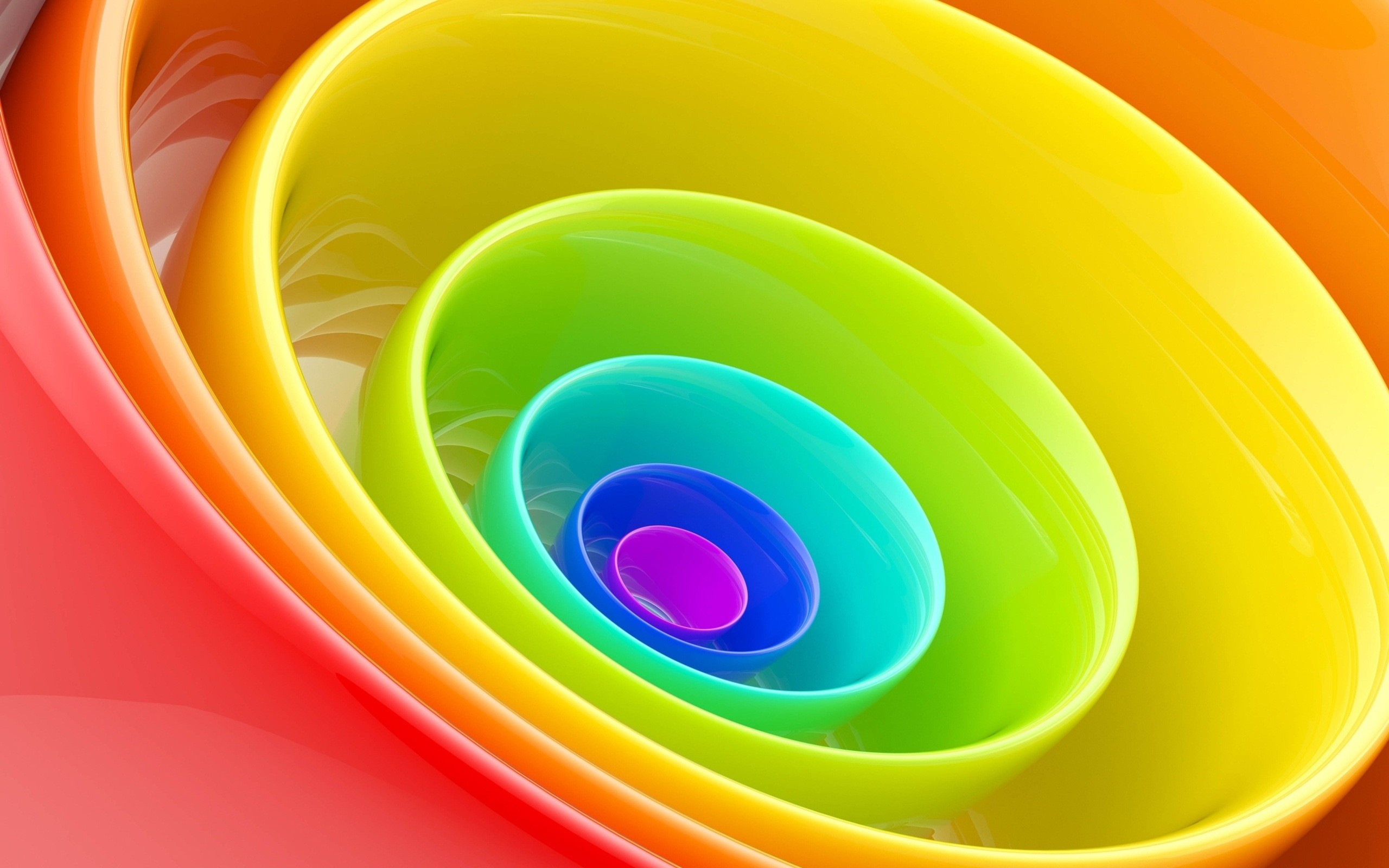 Res: 2560x1600, 3d Rainbow Wallpaper 1080p #qYF