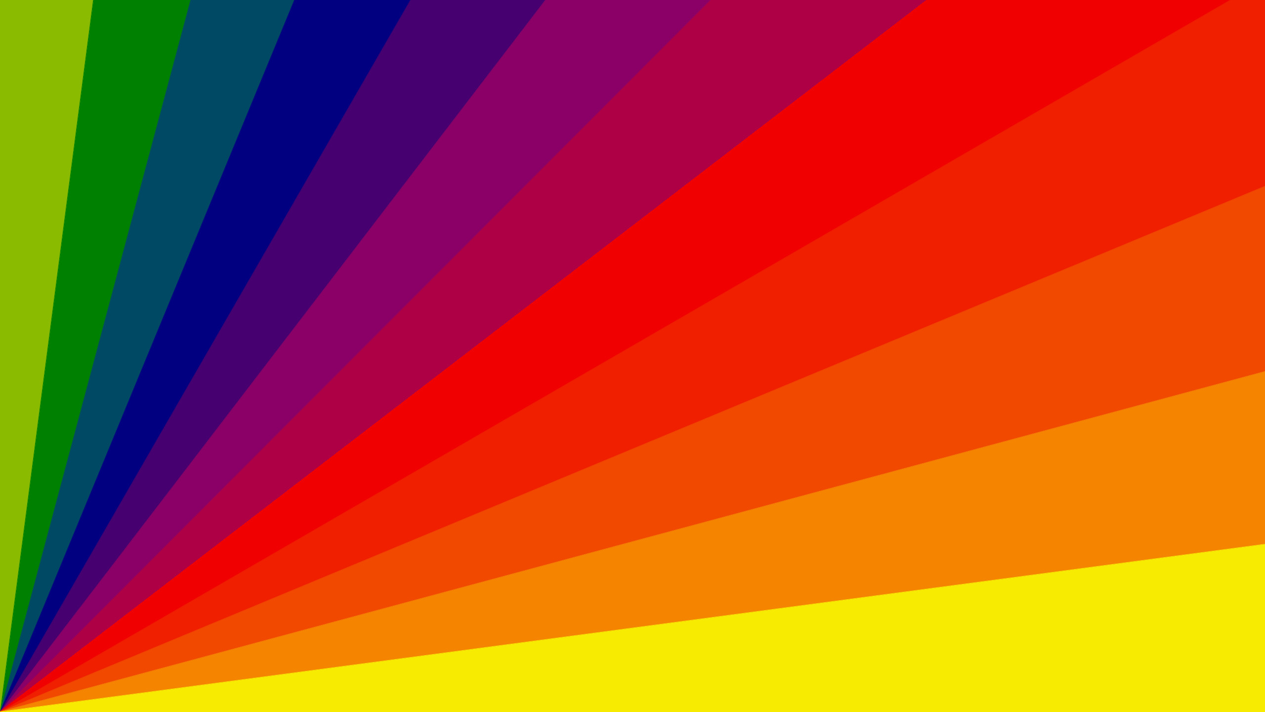 Res: 2560x1440, Abstract Rainbow image