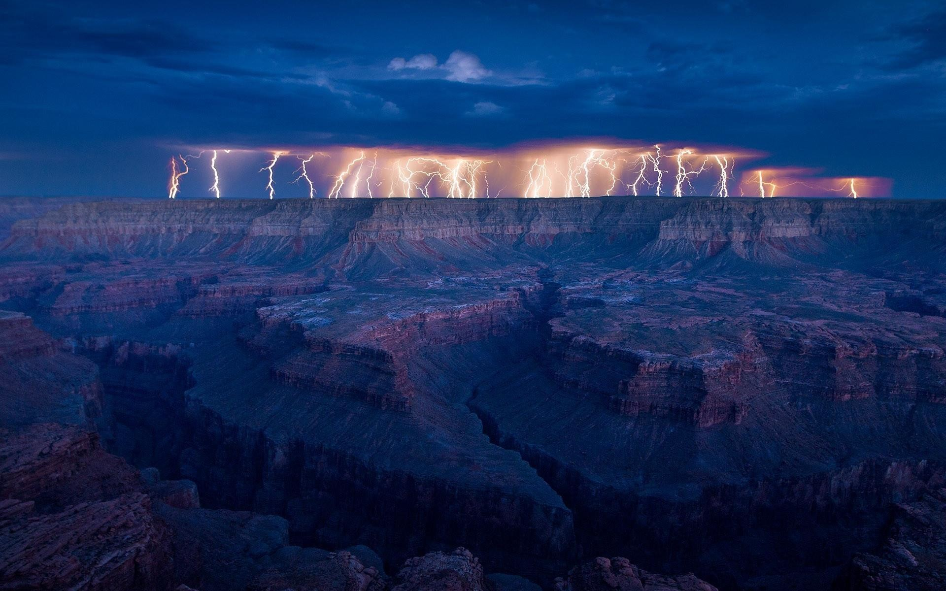 Res: 1920x1200, HD Gr Canyon Thunderstorm Wallpaper | Download Free - 58608