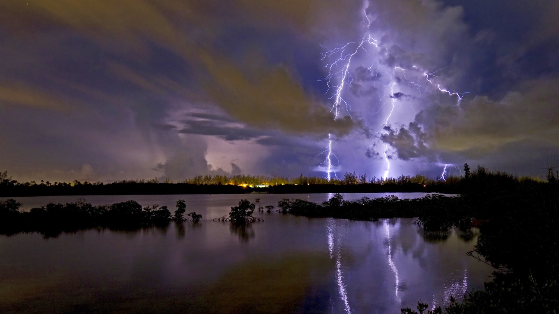 Res: 1920x1080, Lightning storm rain clouds sky nature thunderstorm wallpaper |  |  953404 | WallpaperUP