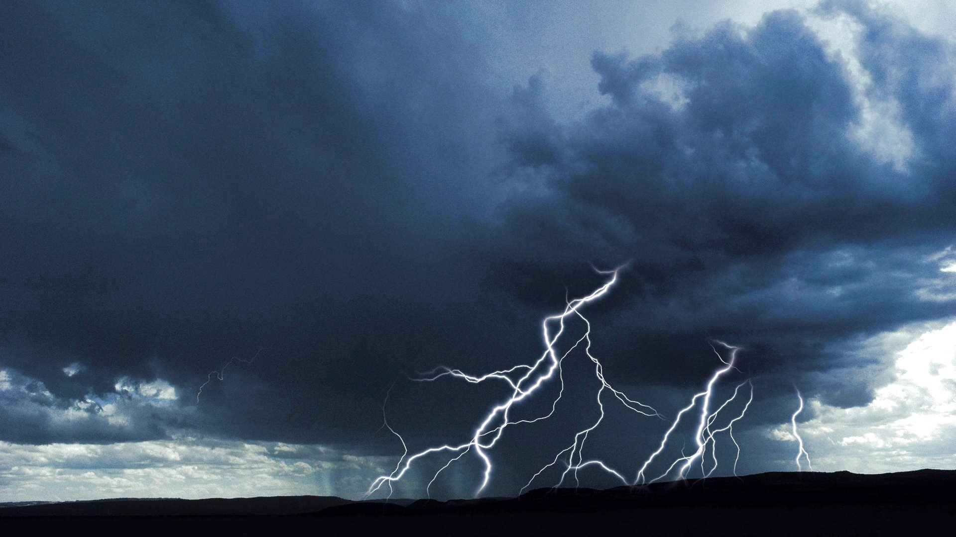 Res: 1920x1080, ... Sky Thunderstorm Clouds Rain Storm Lightning Nature 3d Wallpaper  Android Download Detail ...