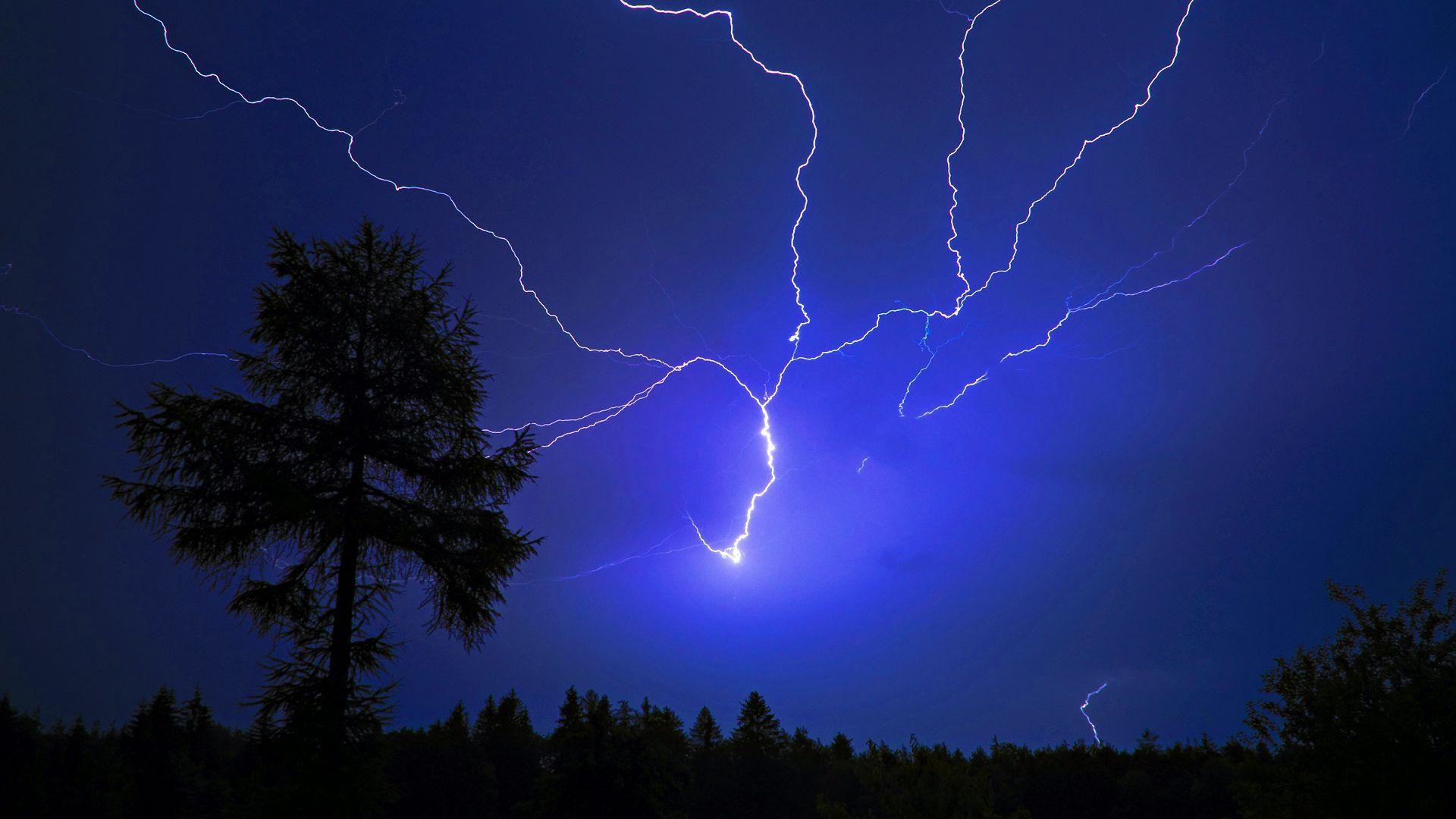 Res: 1920x1080, Free Thunderstorm Wallpaper 4415