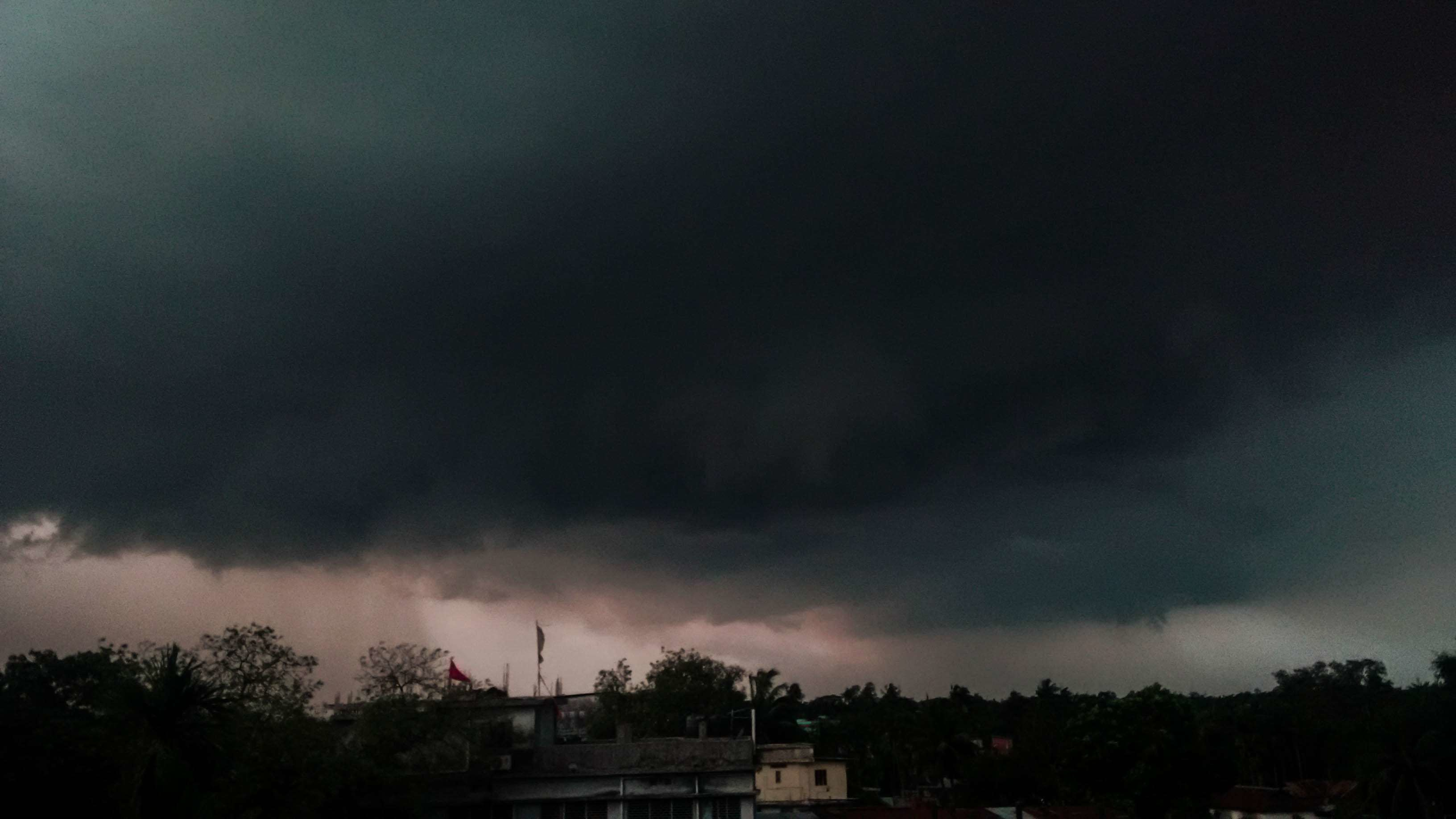 Res: 3264x1836, dark clouds, rain, stormy, thunder, thunderstorm wallpaper and background