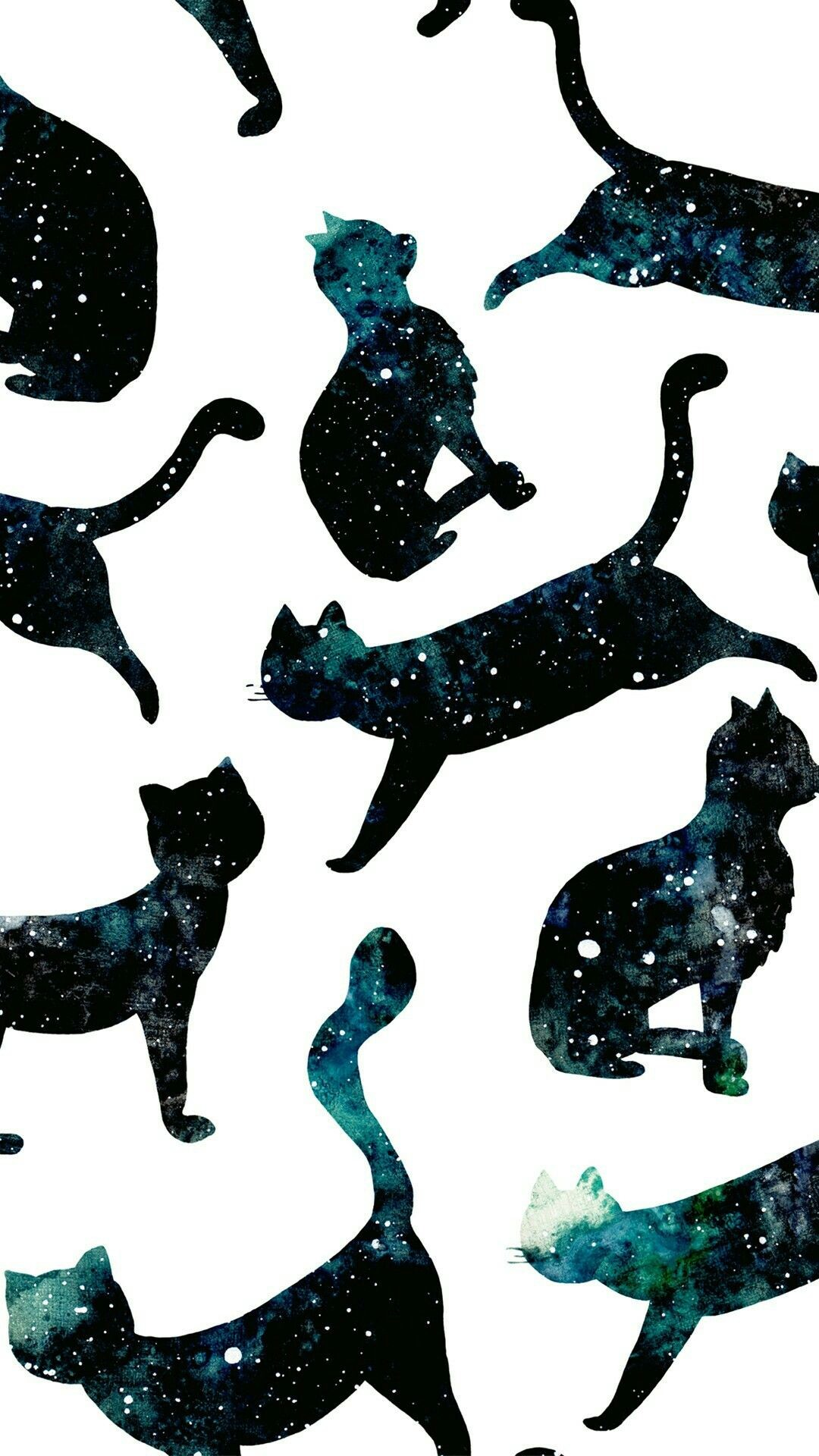 Res: 1080x1920, Wallpaper, cat, Galaxy