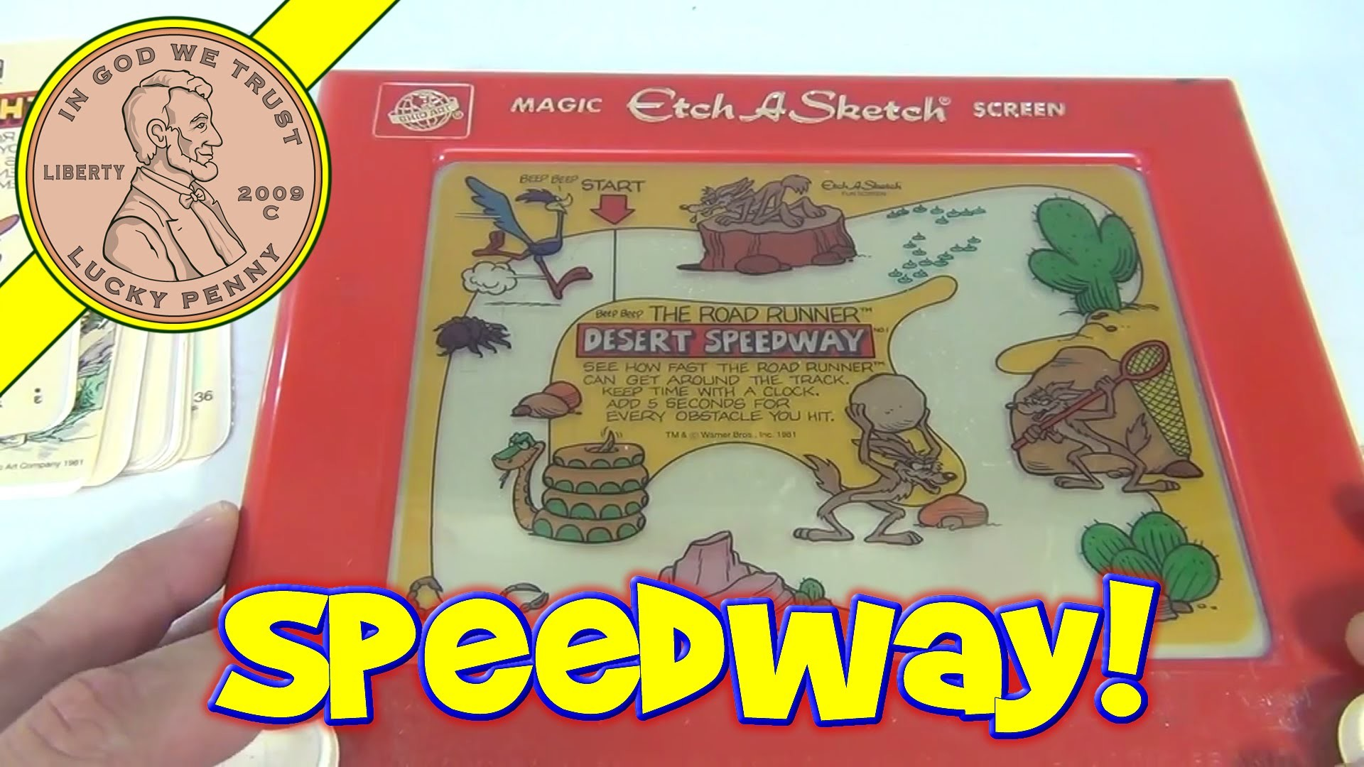 Res: 1920x1080, Ohio Art Etch A Sketch Games u0026amp; Puzzles Action Pack Fun Screens -  Video 2