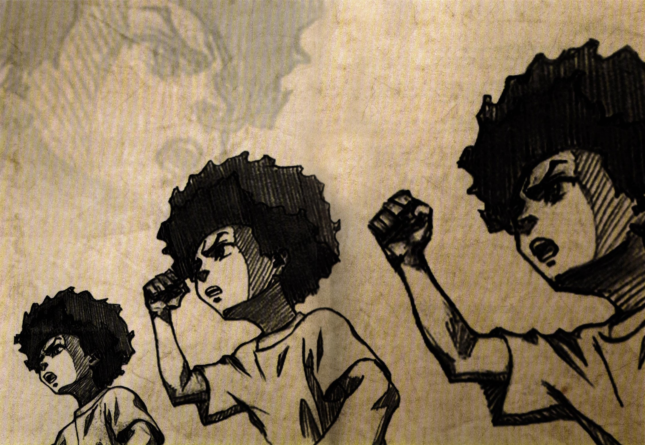 Res: 2250x1554, The Boondocks Wallpaper - Huey Freeman by Razpootin ...