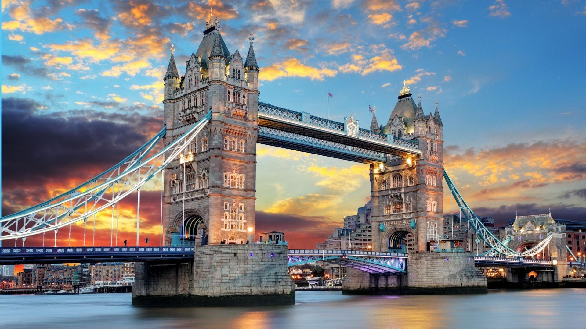 Res: 1920x1080, London Tower Bridge
