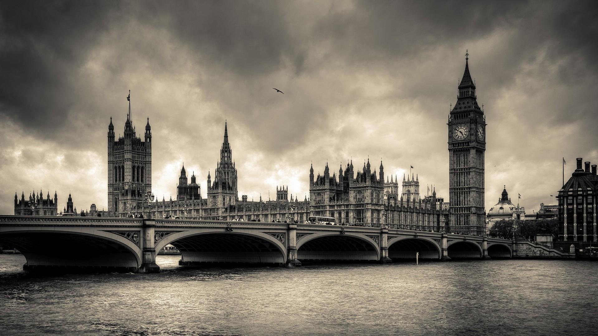 Res: 1920x1080, wallpaper London · bridges
