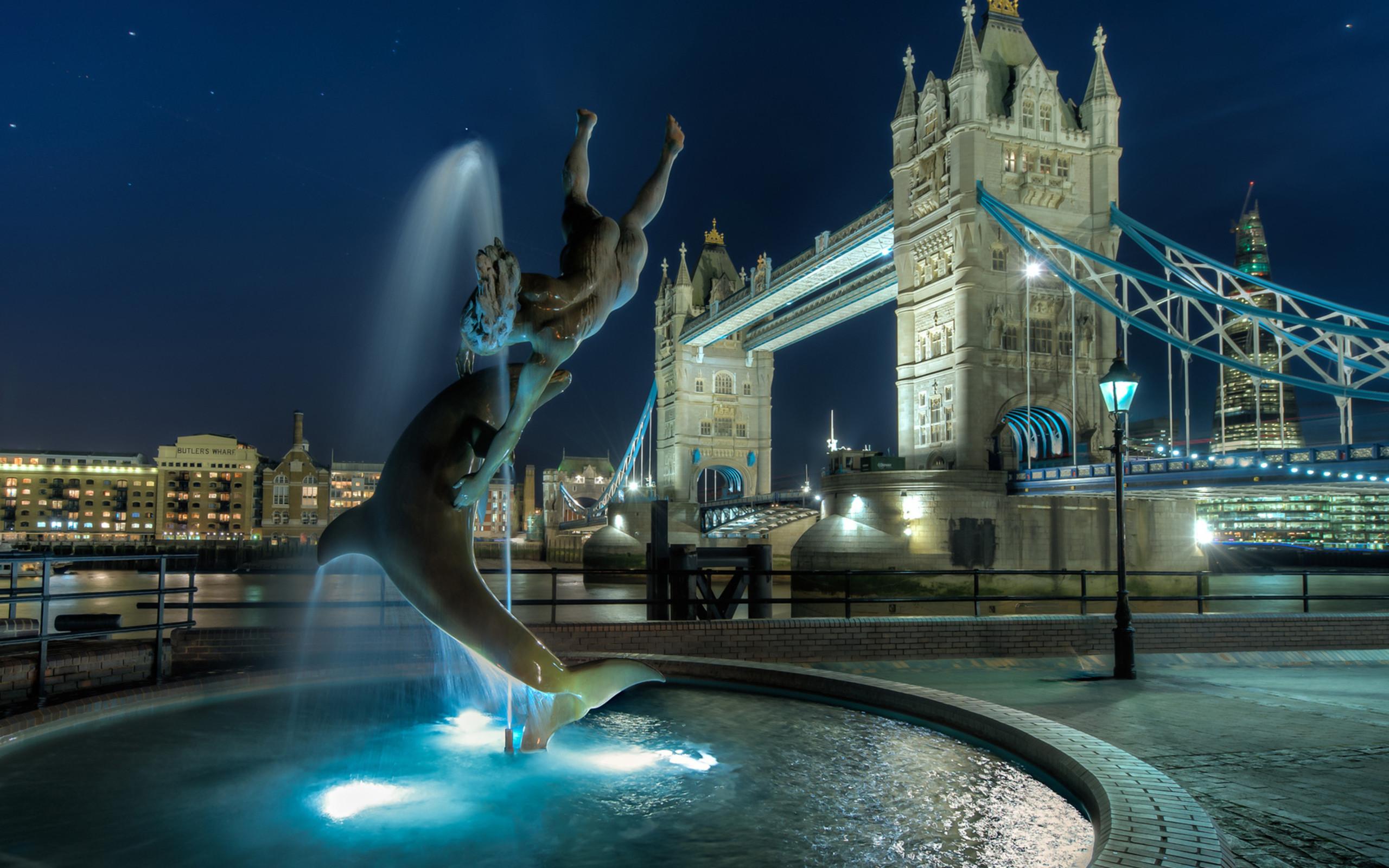 Res: 2560x1600, London Tower Bridge England
