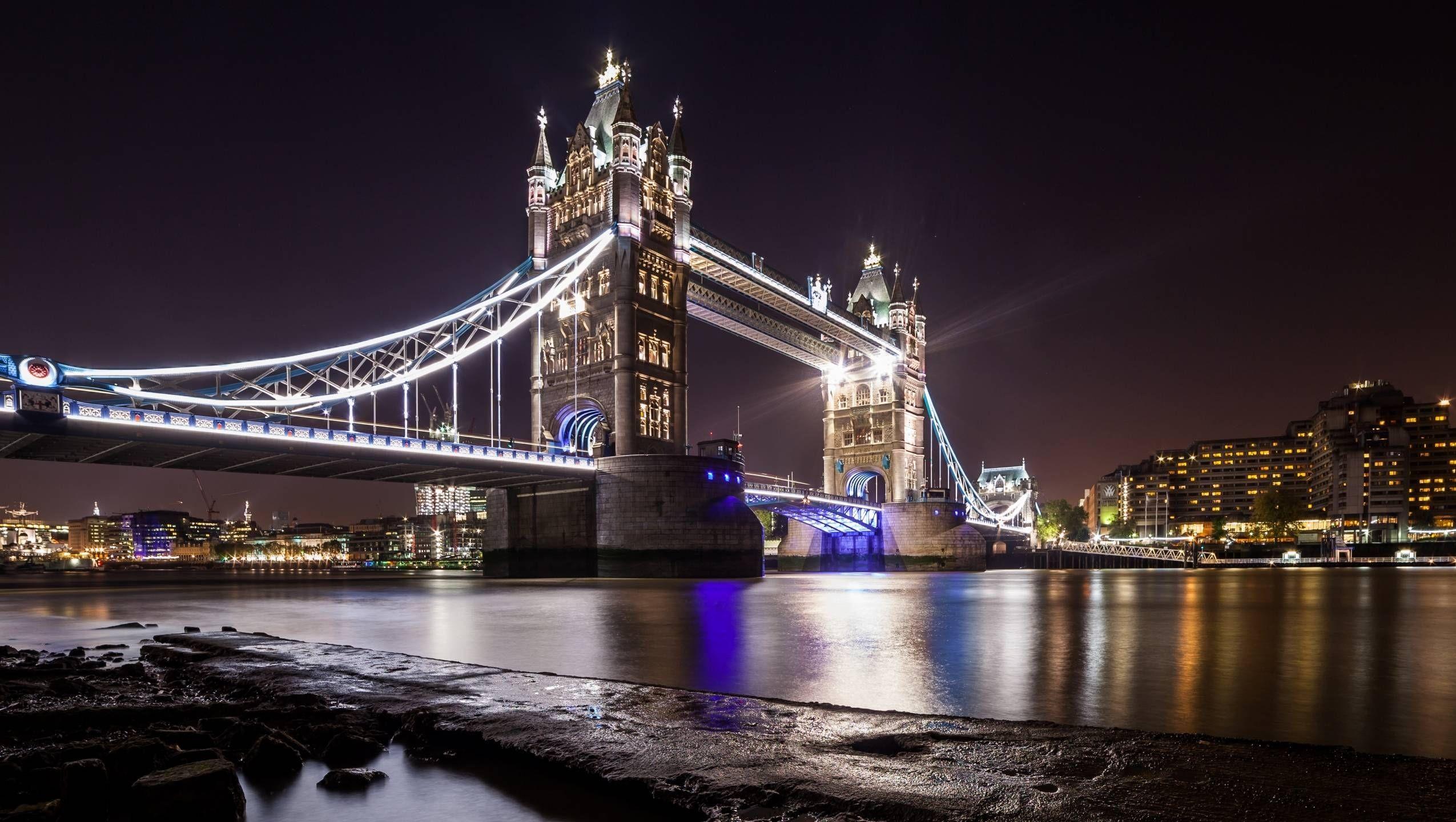 Res: 2550x1440, Tower on Bridge HD Wallpapers 1024×576 Bridge Pictures Wallpapers (39  Wallpapers) | Adorable Wallpapers