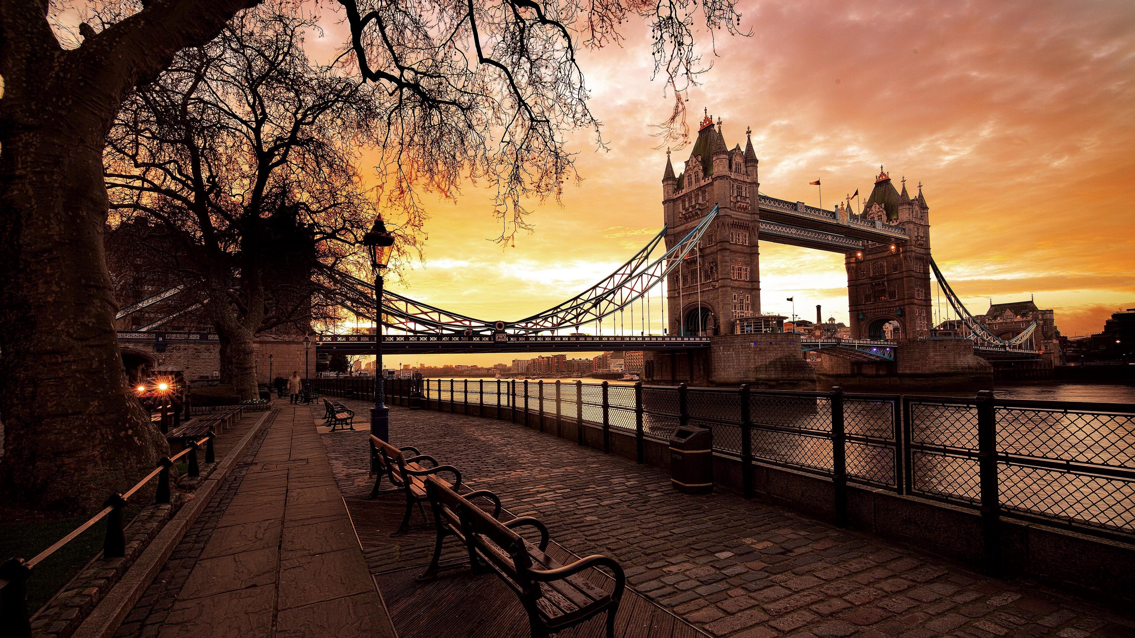 Res: 3840x2160, Tower Bridge Wallpaper | Wallpaper Studio 10 | Tens of thousands HD and  UltraHD wallpapers for Android, Windows and Xbox