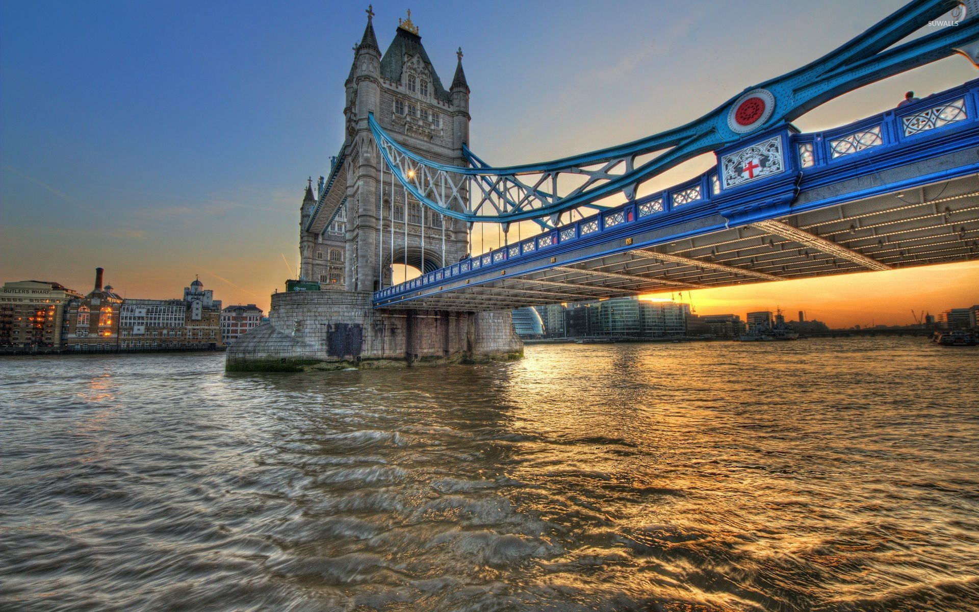Res: 1920x1200, Tower Bridge, London wallpaper