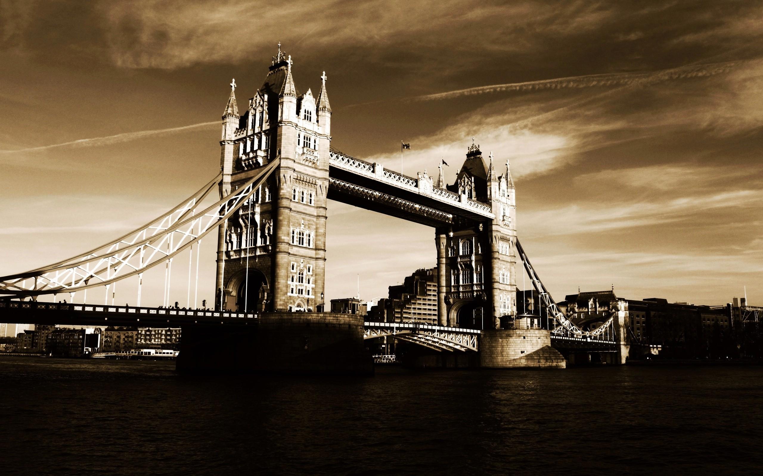 Res: 2560x1600, Tower Bridge High Definition Background