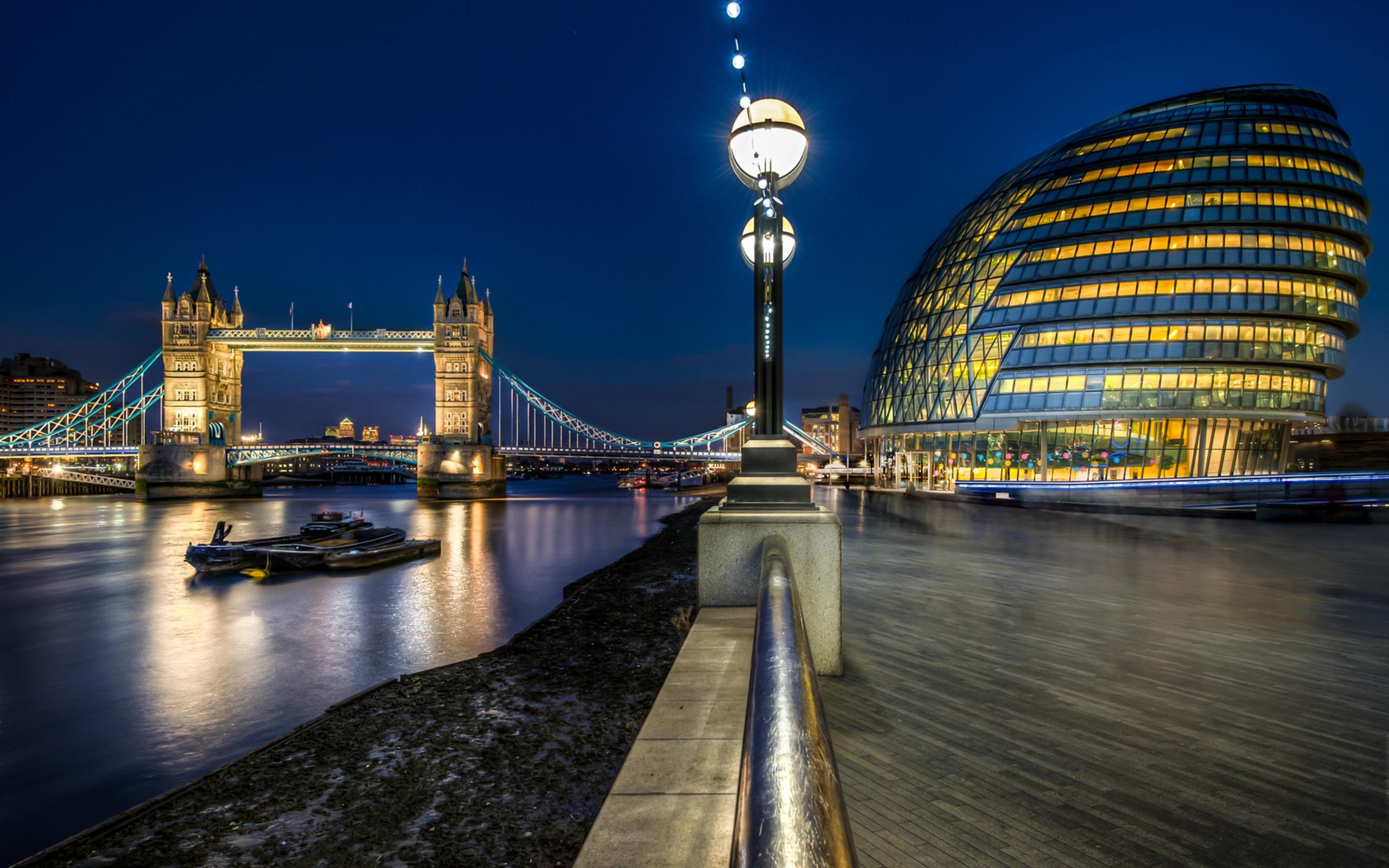 Res: 2560x1600, Tower Bridge