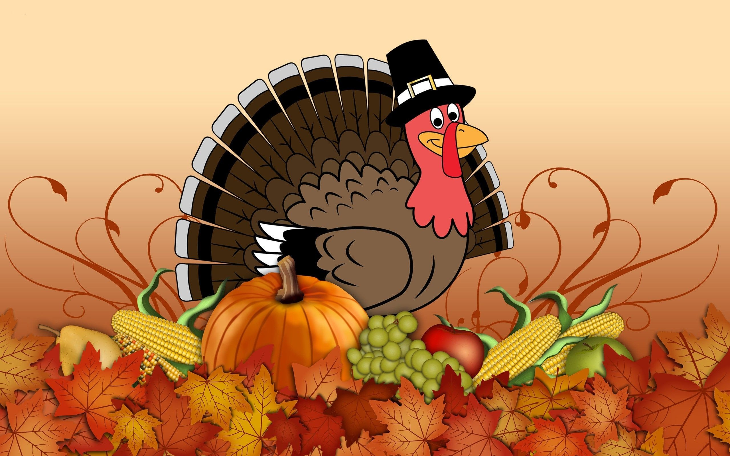 Res: 2560x1600, 40 Free Thanksgiving Background Wallpapers For Desktop