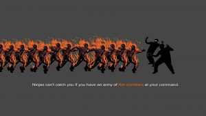 Funny Zombie wallpapers