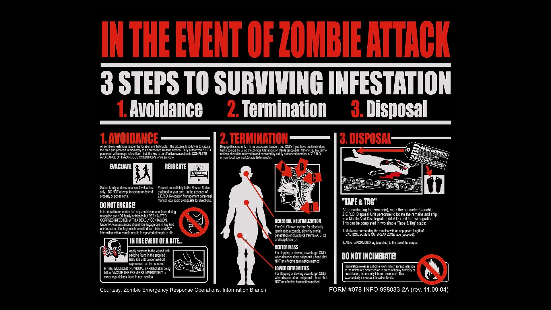 Res: 1920x1080, zombies · quotes · funny